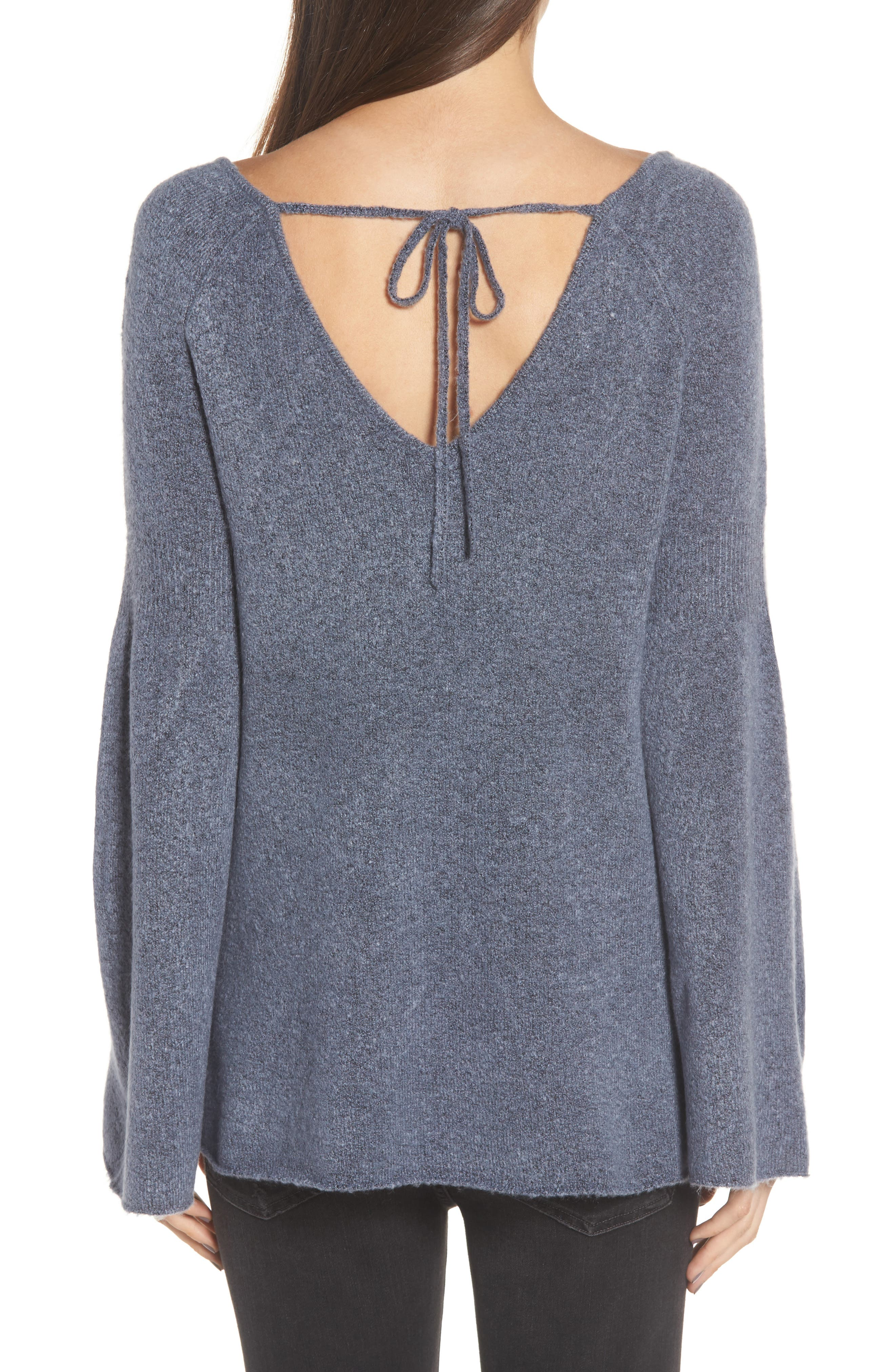 Alternate Image 2  - Hinge Bell Sleeve Sweater