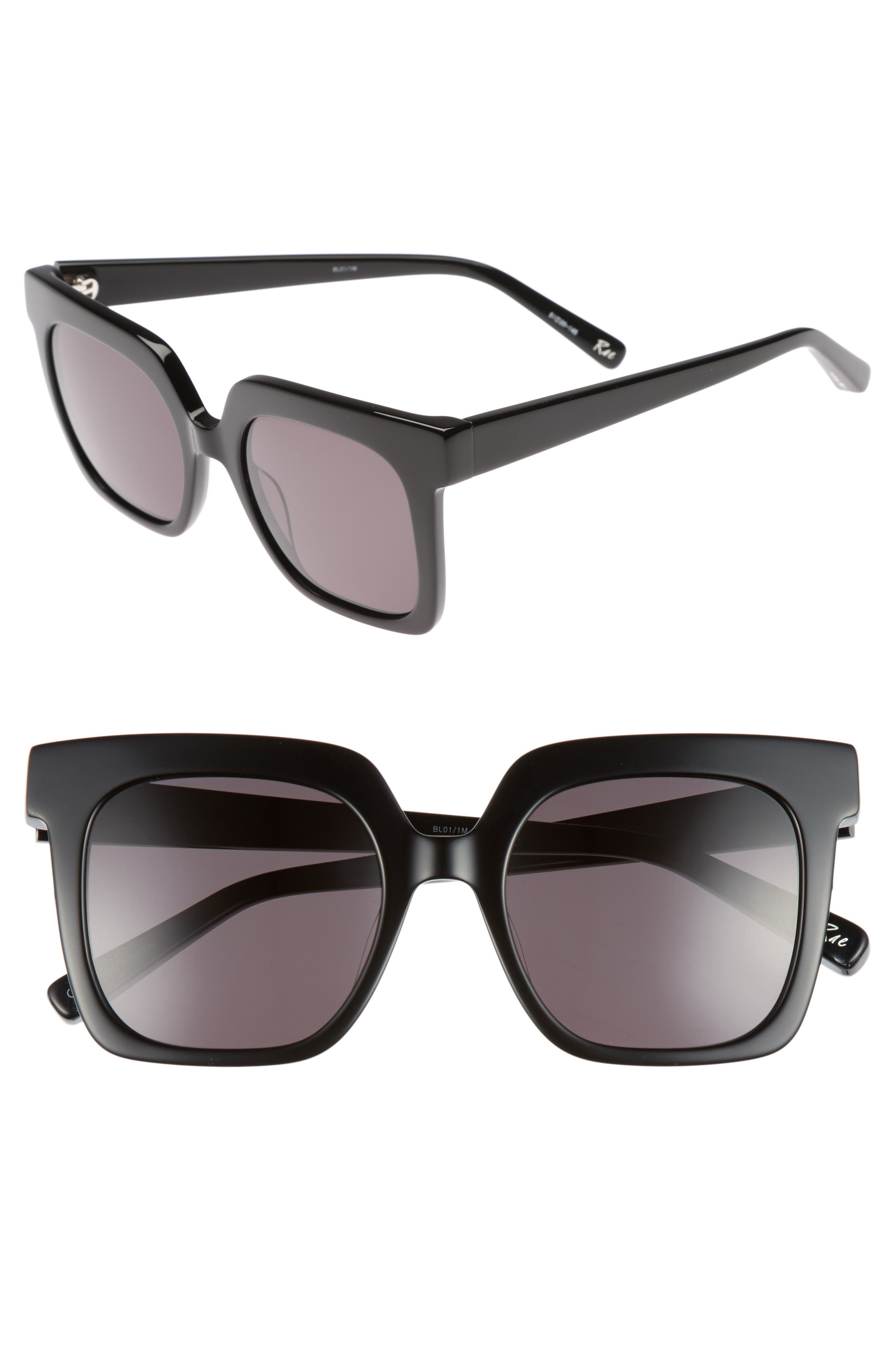 Elizabeth and James Rae 51mm Square Sunglasses
