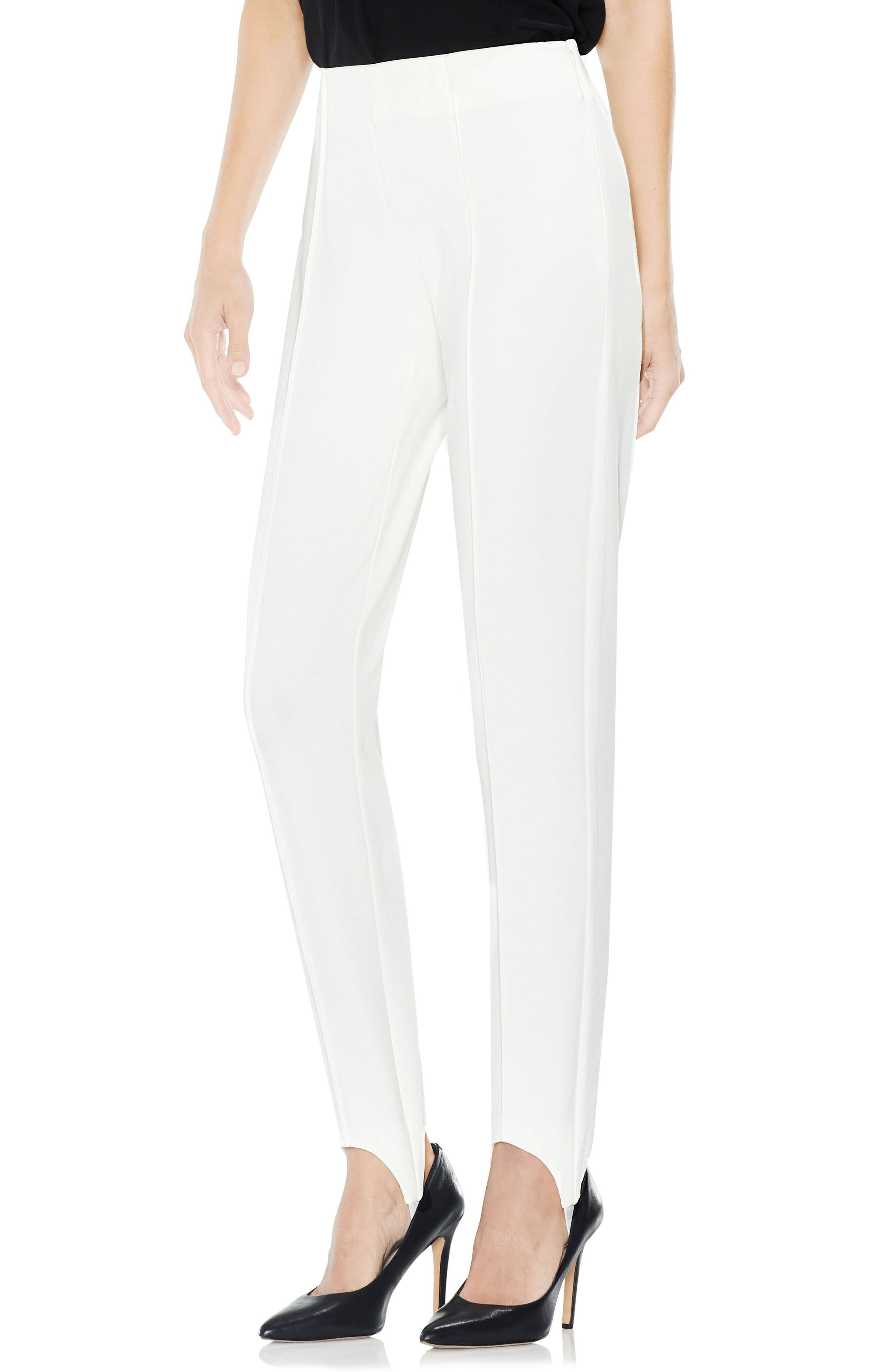 Main Image - Vince Camuto Stirrup Side-Zip Ponte Pants