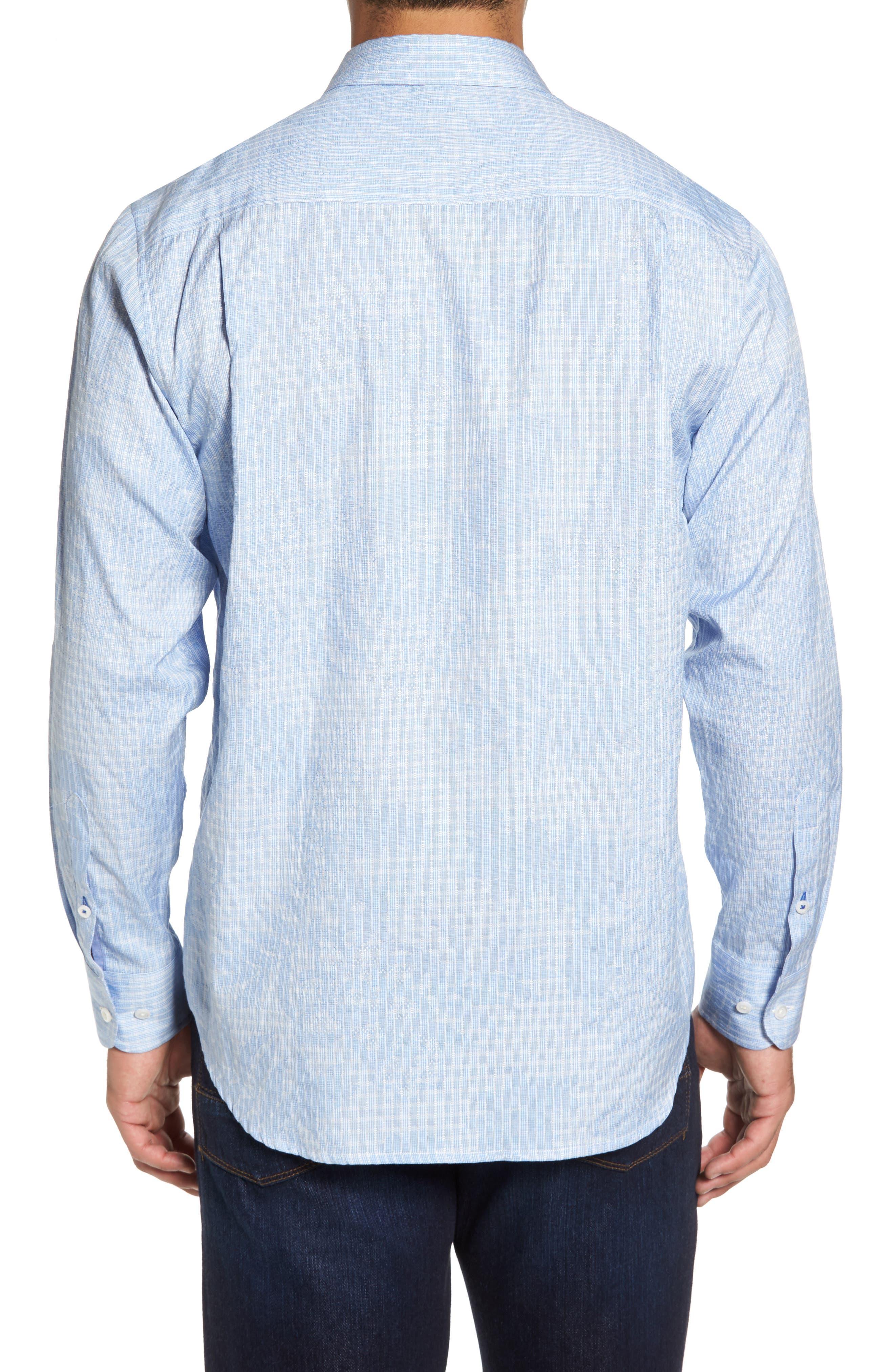 Alternate Image 2  - Tommy Bahama Tangier Tropics Sport Shirt (Big, Tall)
