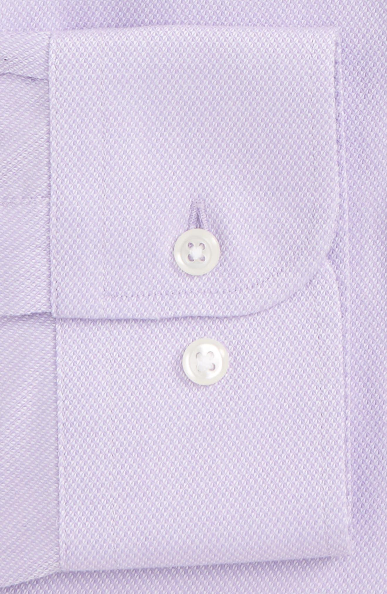 Alternate Image 2  - Nordstrom Men's Shop Smartcare™ Traditional Fit Solid Dress Shirt