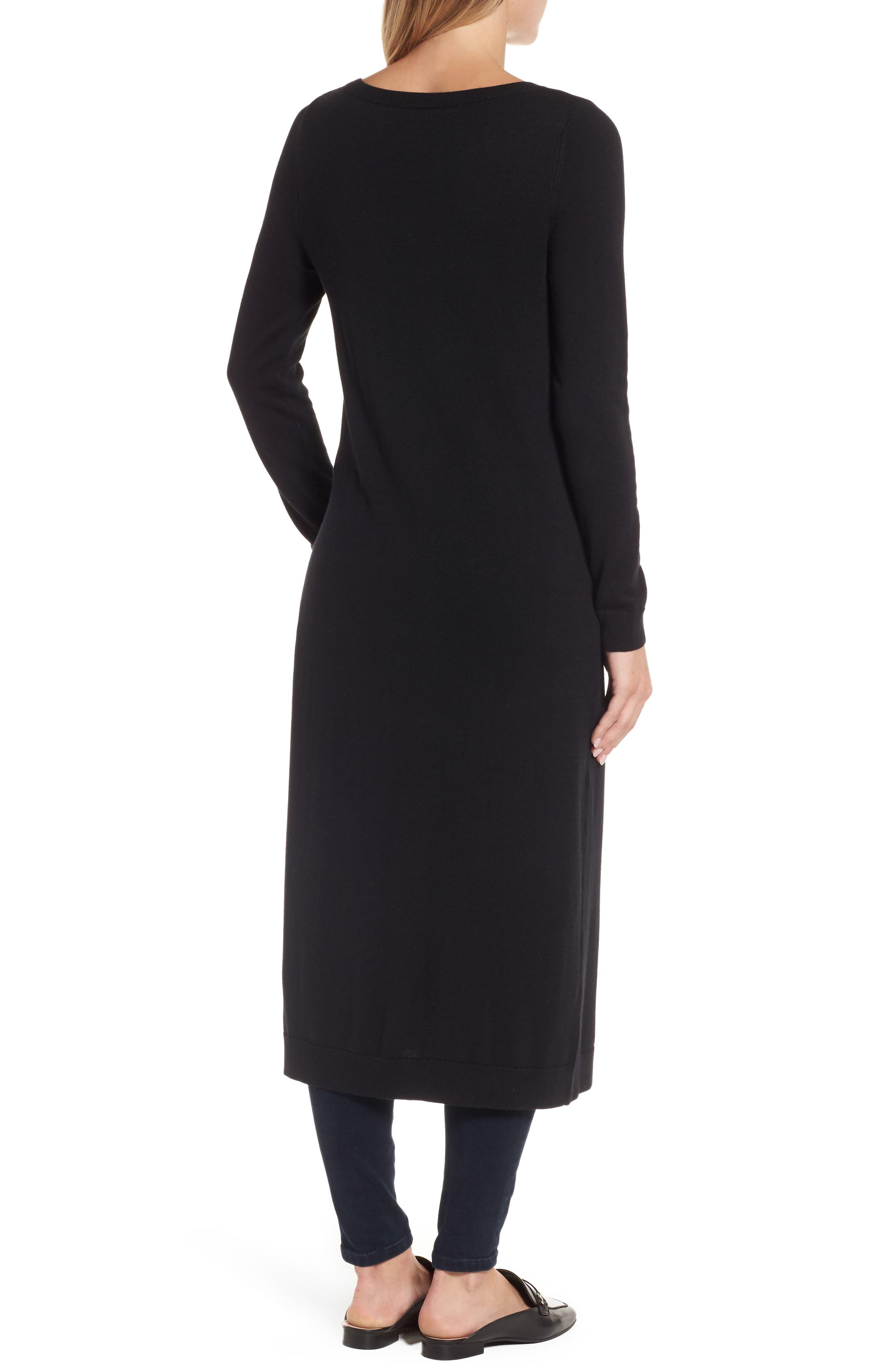 Alternate Image 2  - Halogen® Side Slit Tunic Sweater