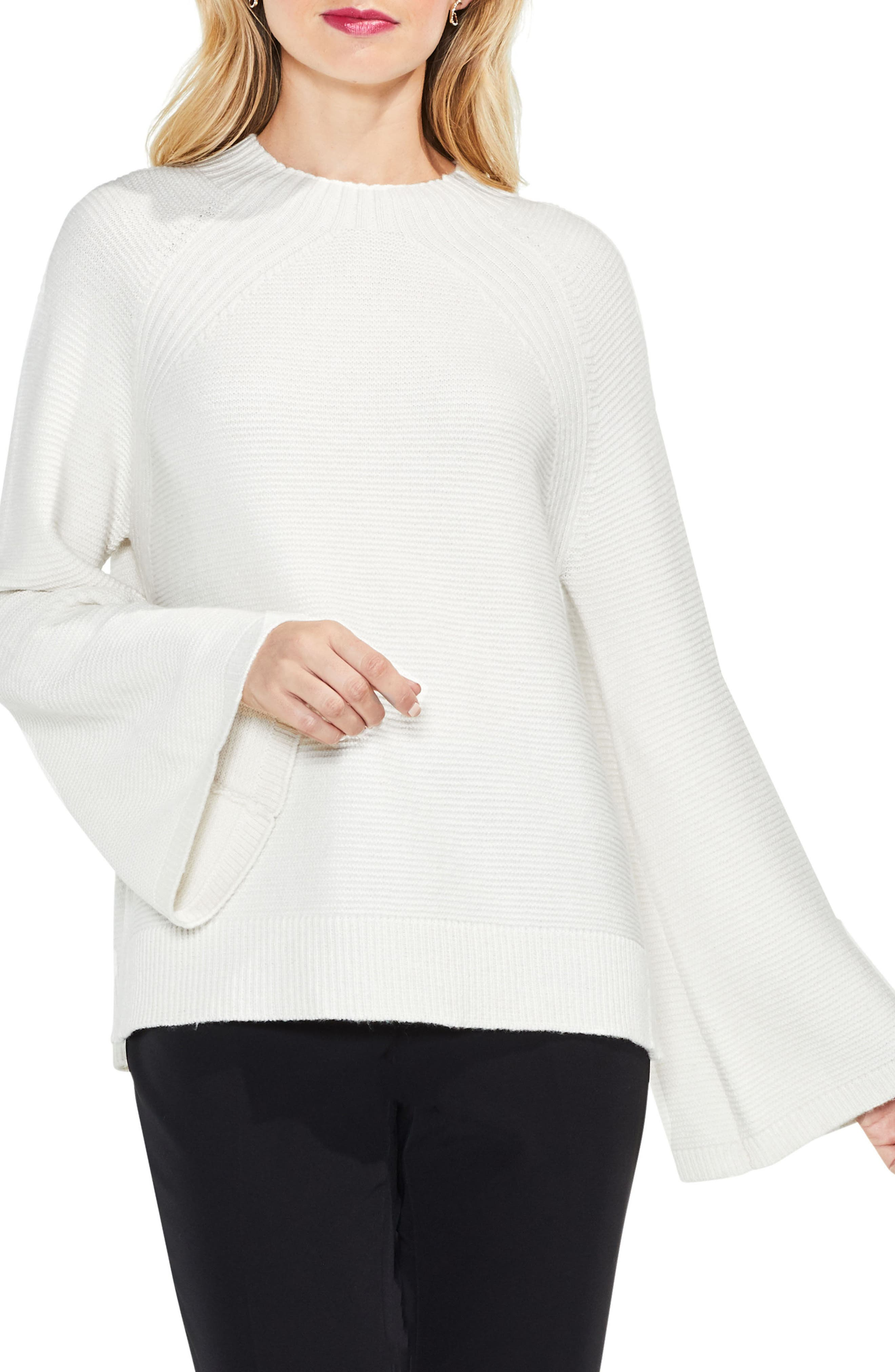 Vince Camuto Bell Sleeve Sweater (Regular & Petite)