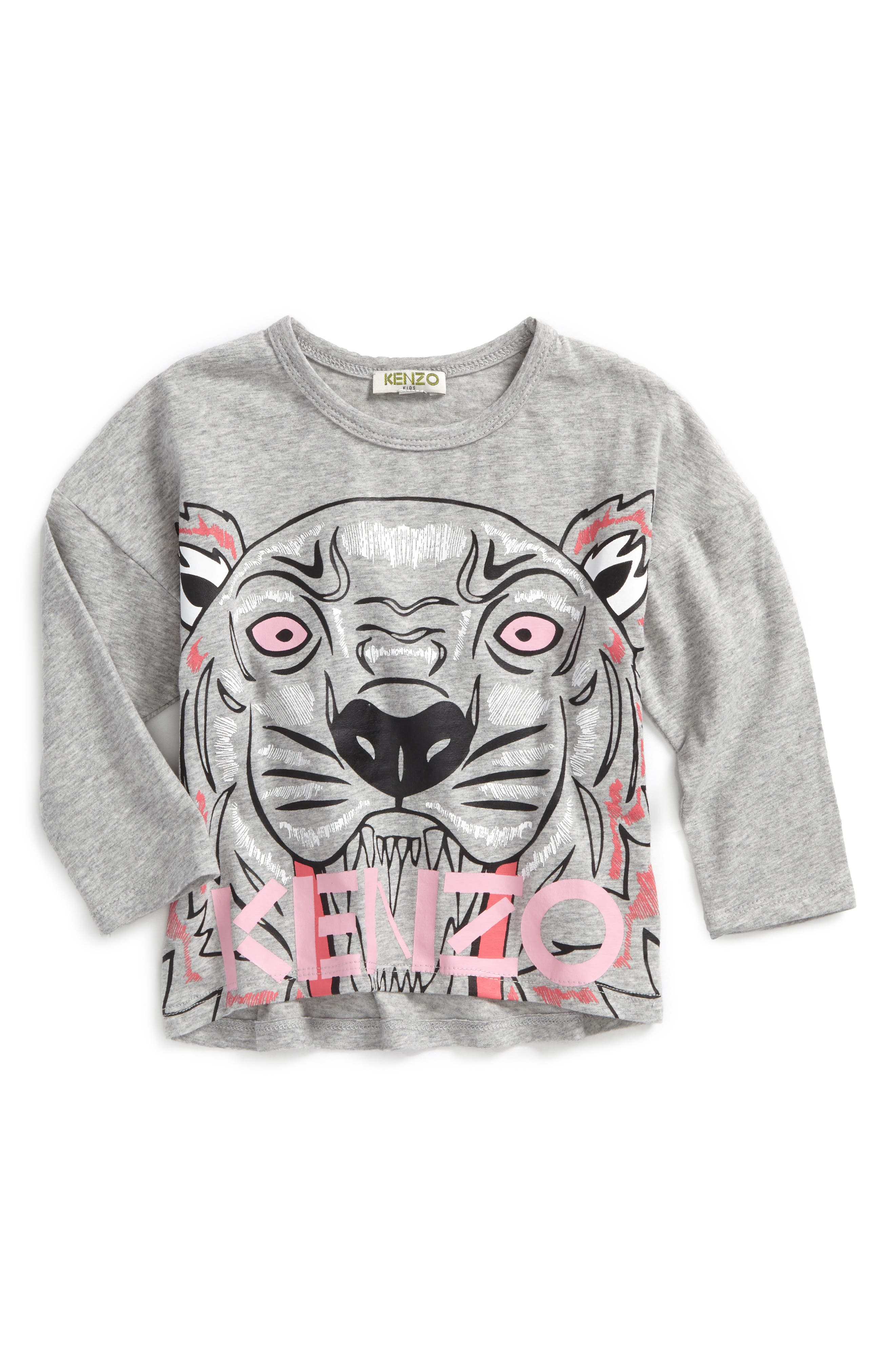 KENZO Logo Graphic Tee (Toddler Girls, Little Girls & Big Girls)
