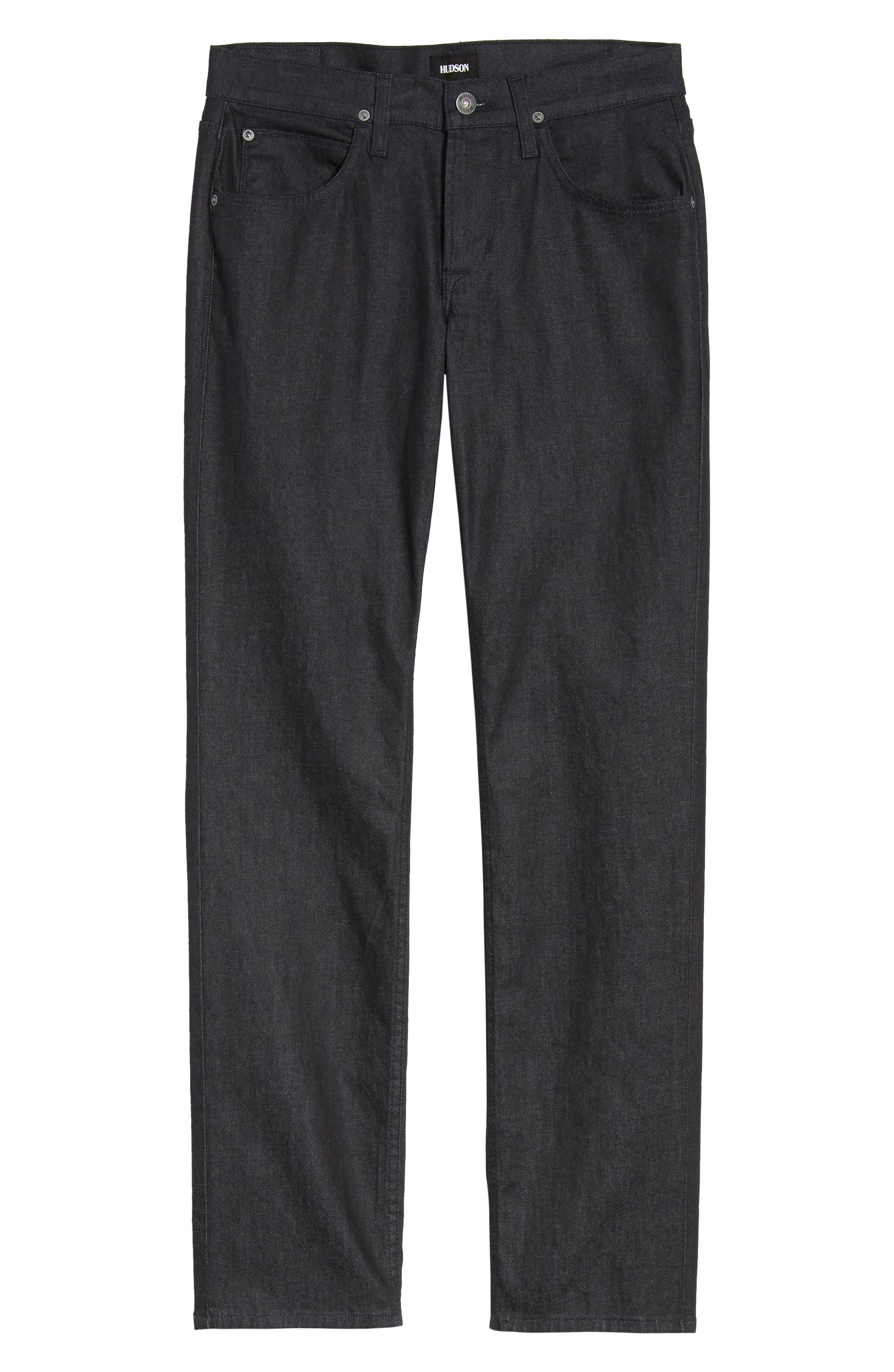Alternate Image 6  - Hudson Jeans Byron Slim Straight Leg Jeans (Bounty)