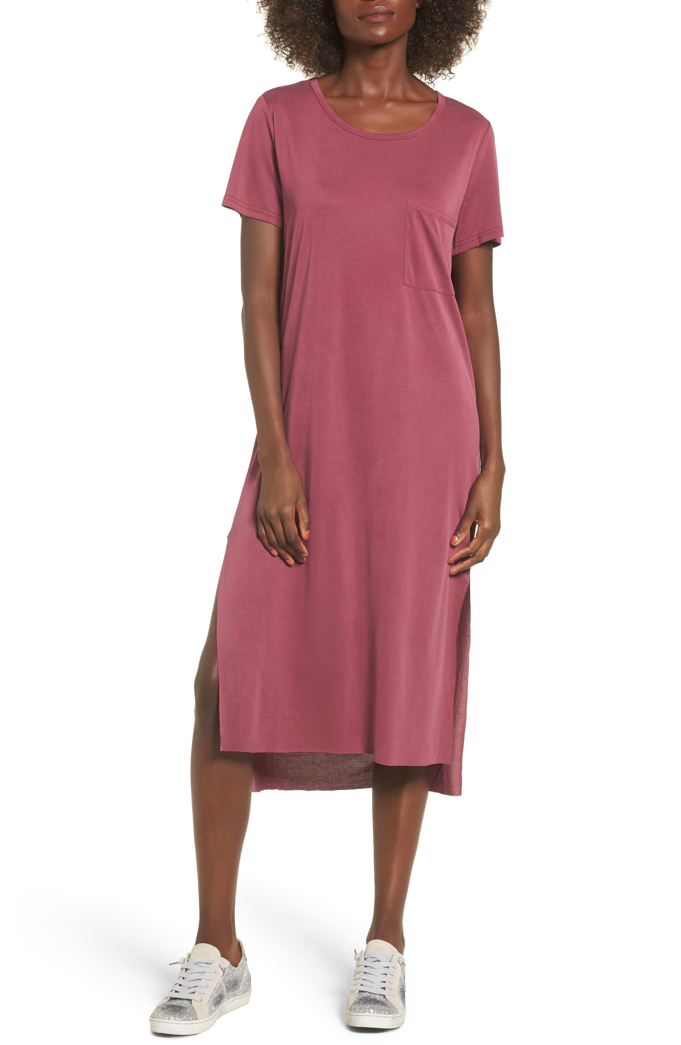 Alternate Image 1 Selected - Lira Clothing Eden Midi T-Shirt Dress