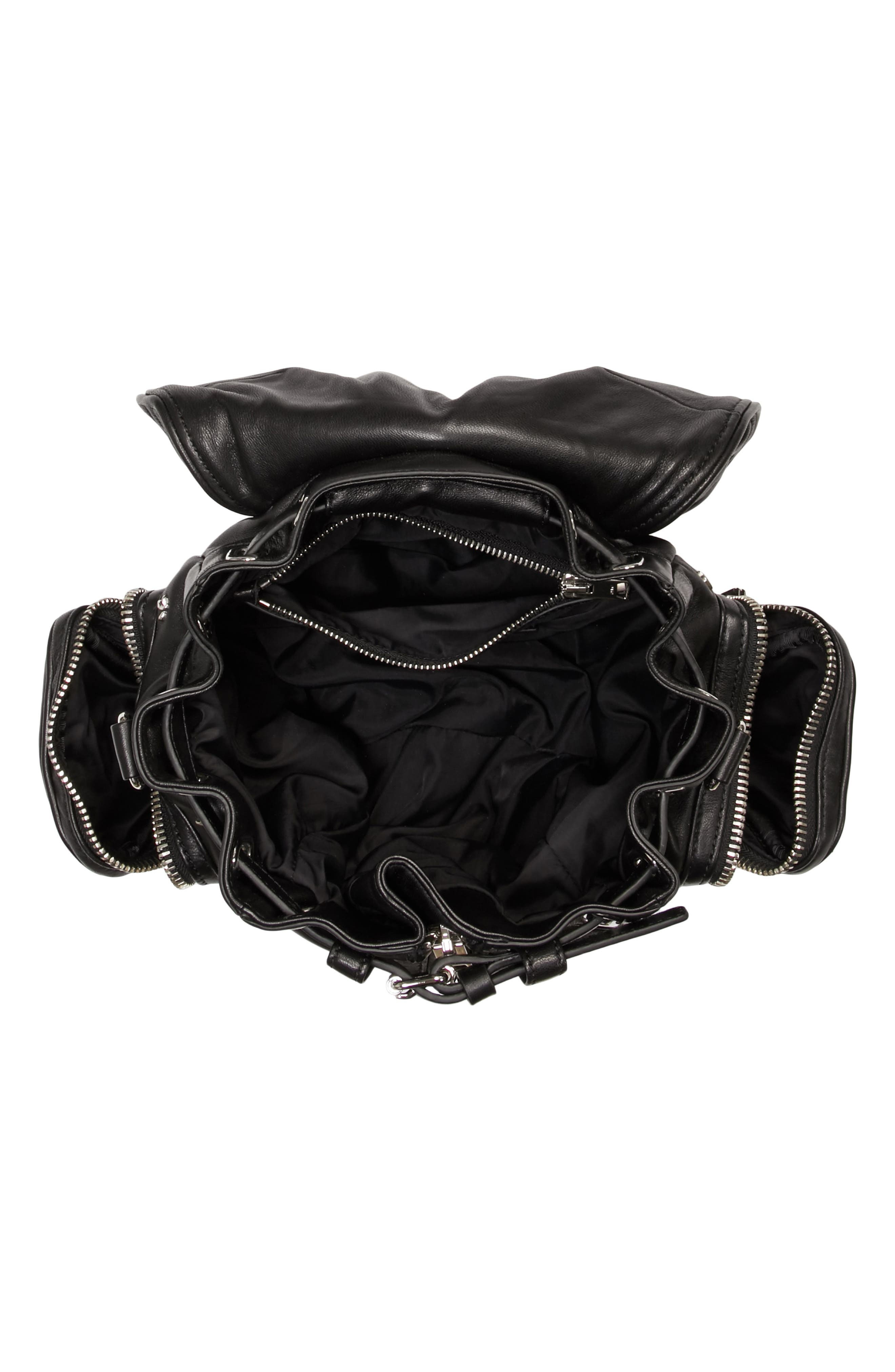 Alternate Image 4  - Alexander Wang Mini Marti Rose Studded Convertible Leather Backpack
