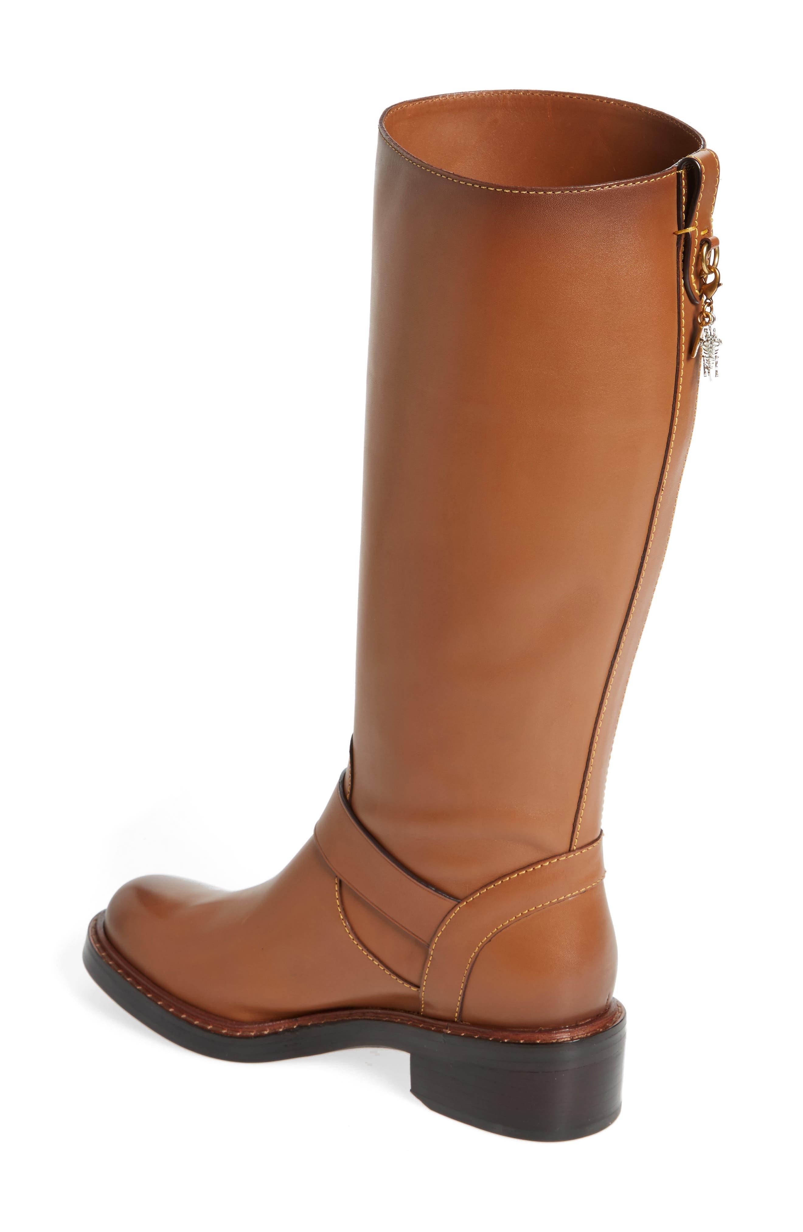 Alternate Image 2  - COACH Sutton Riding Boot (Women)