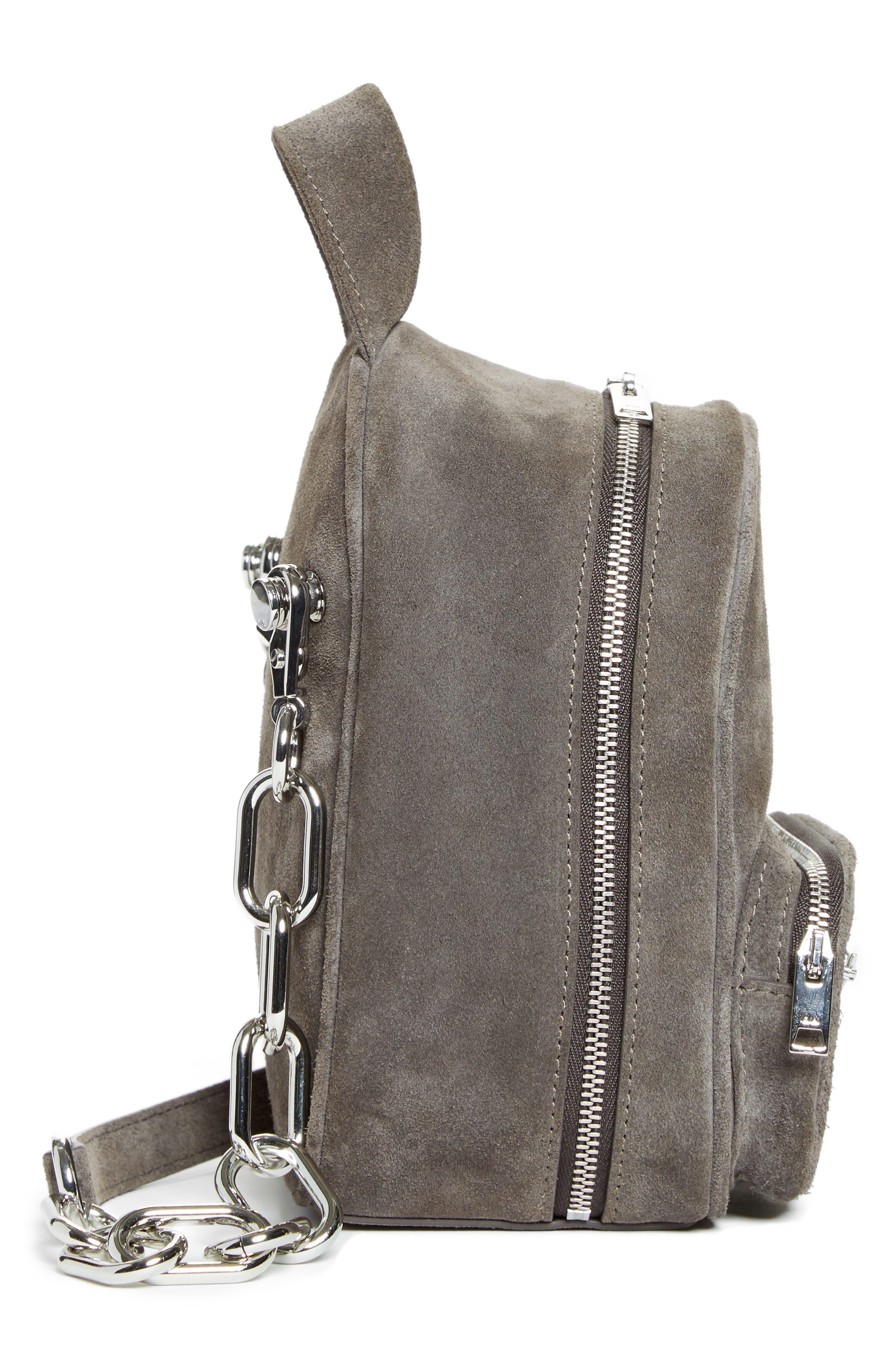 Alternate Image 5  - Alexander Wang Mini Attica Leather Crossbody Backpack