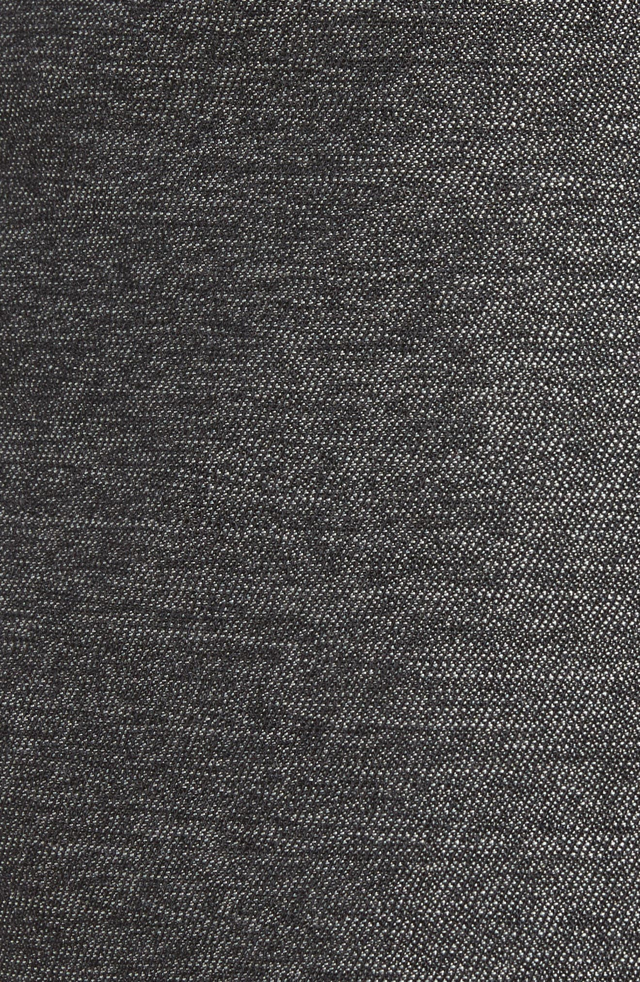 Sartorial Wool Five-Pocket Pants,                             Alternate thumbnail 5, color,                             Grey