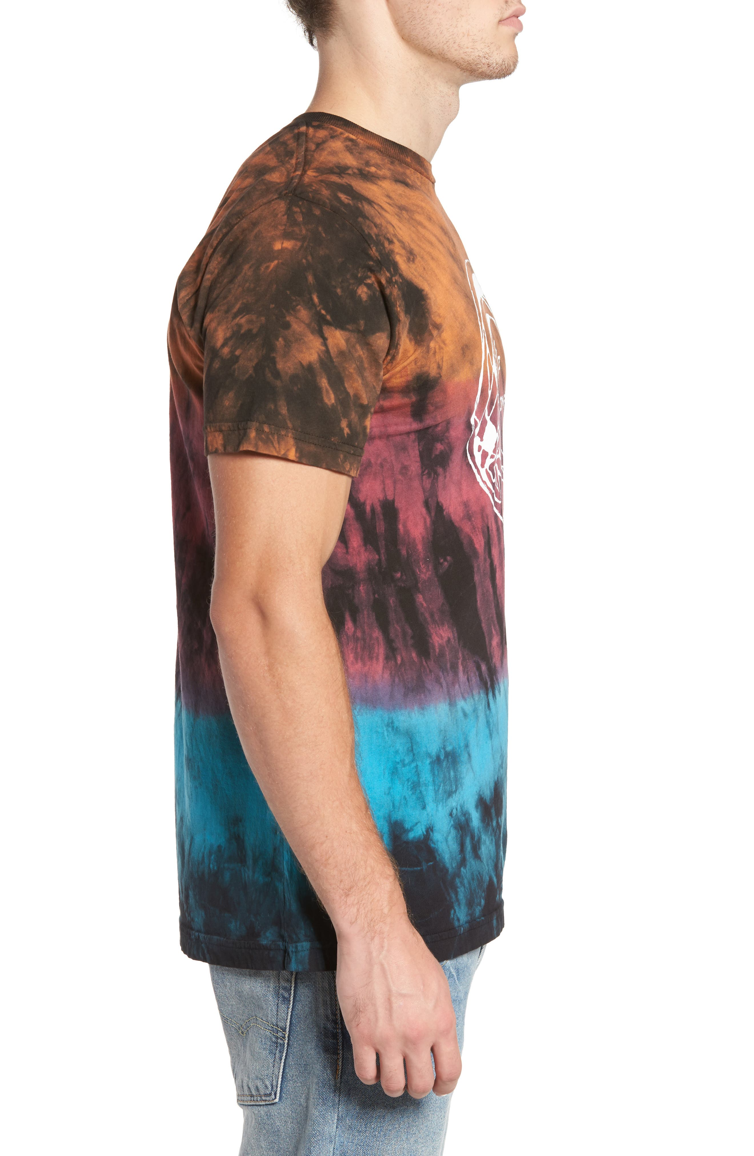 Alternate Image 3  - O'Neill The Lawn Graphic Tie Dye T-Shirt