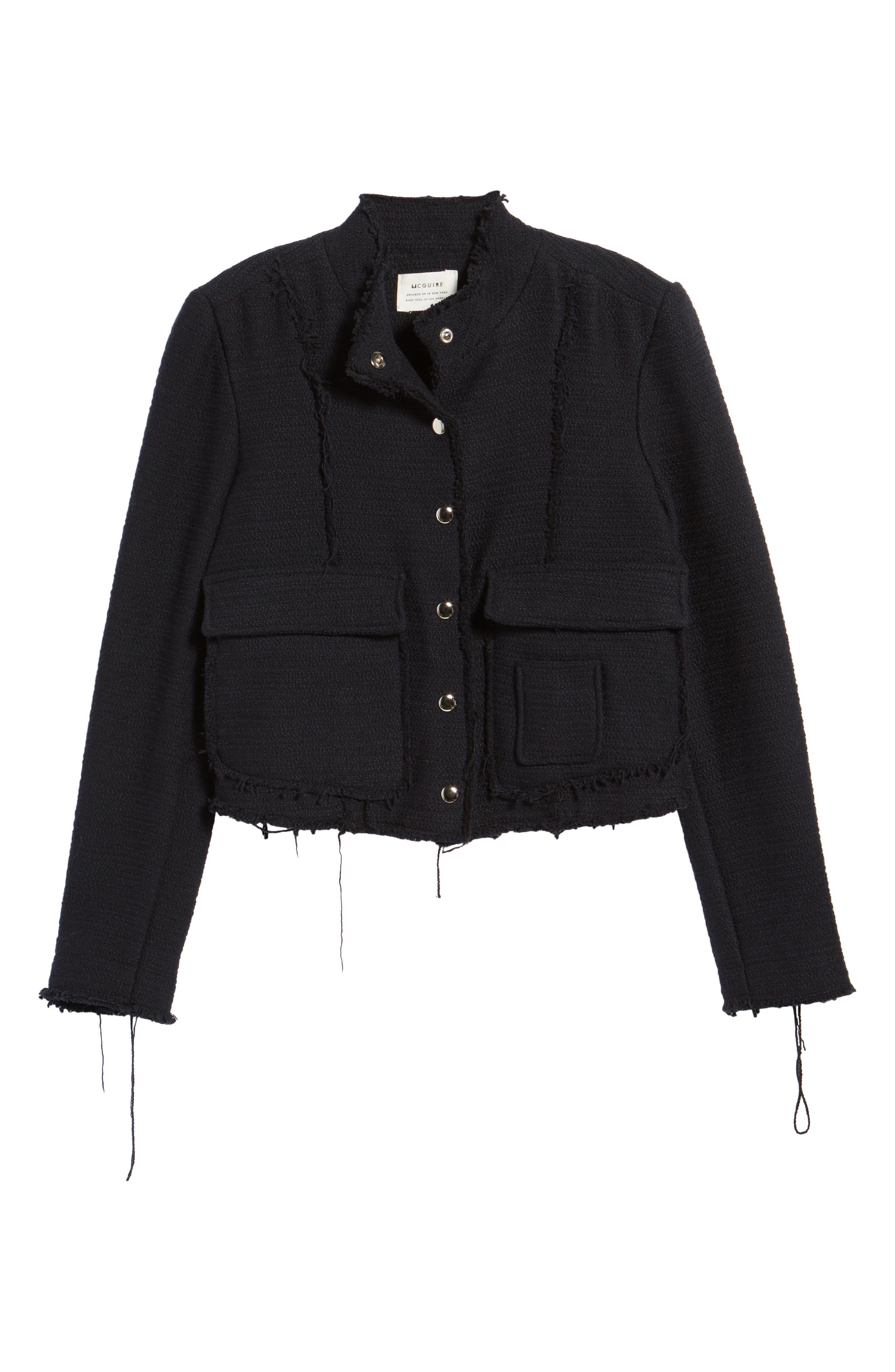Alternate Image 6  - McGuire Bloombury Crop Cotton Jacket