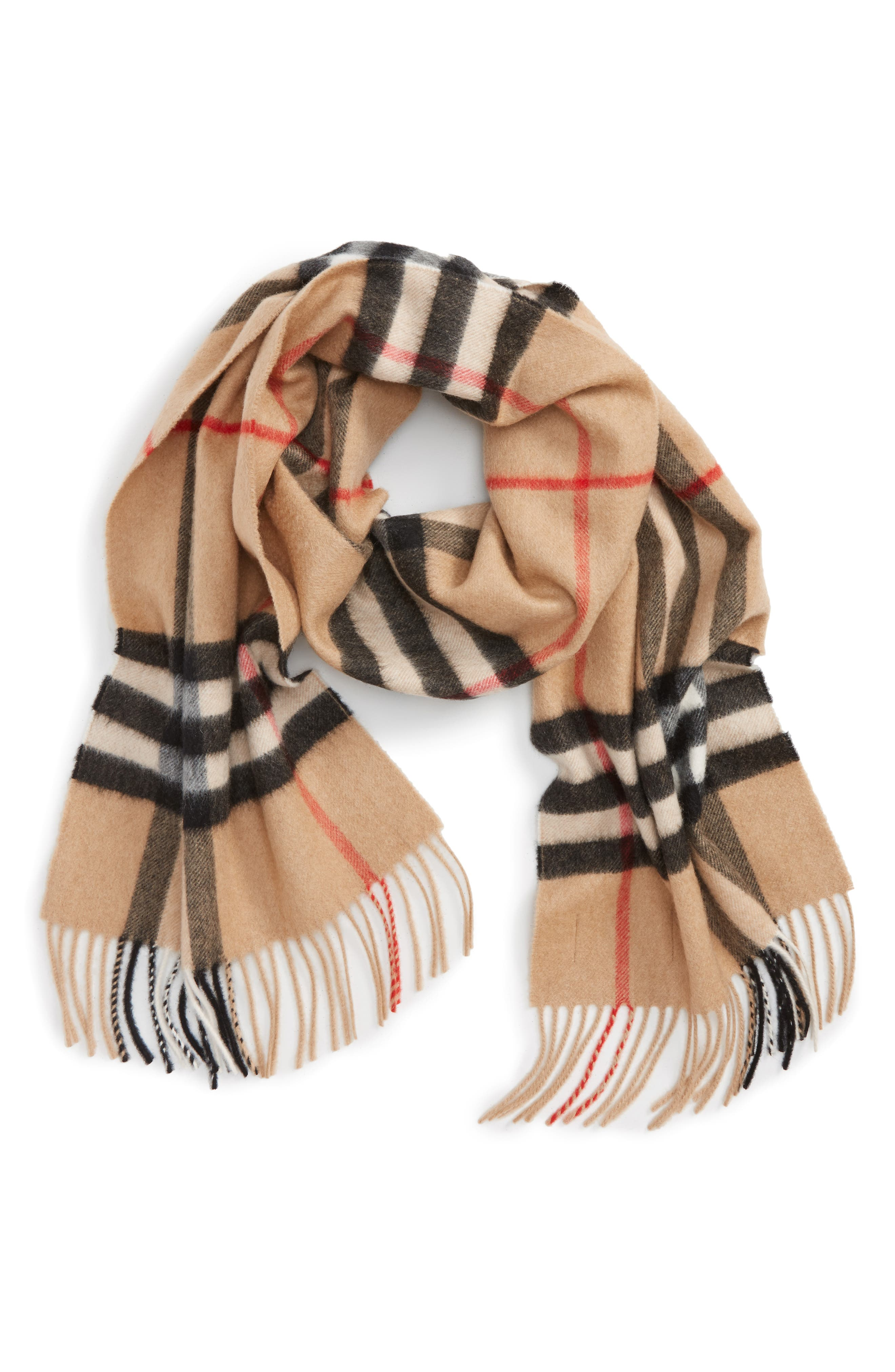 Scarf for Women On Sale, Beige, Fur, 2017, Universal Size D.exterior