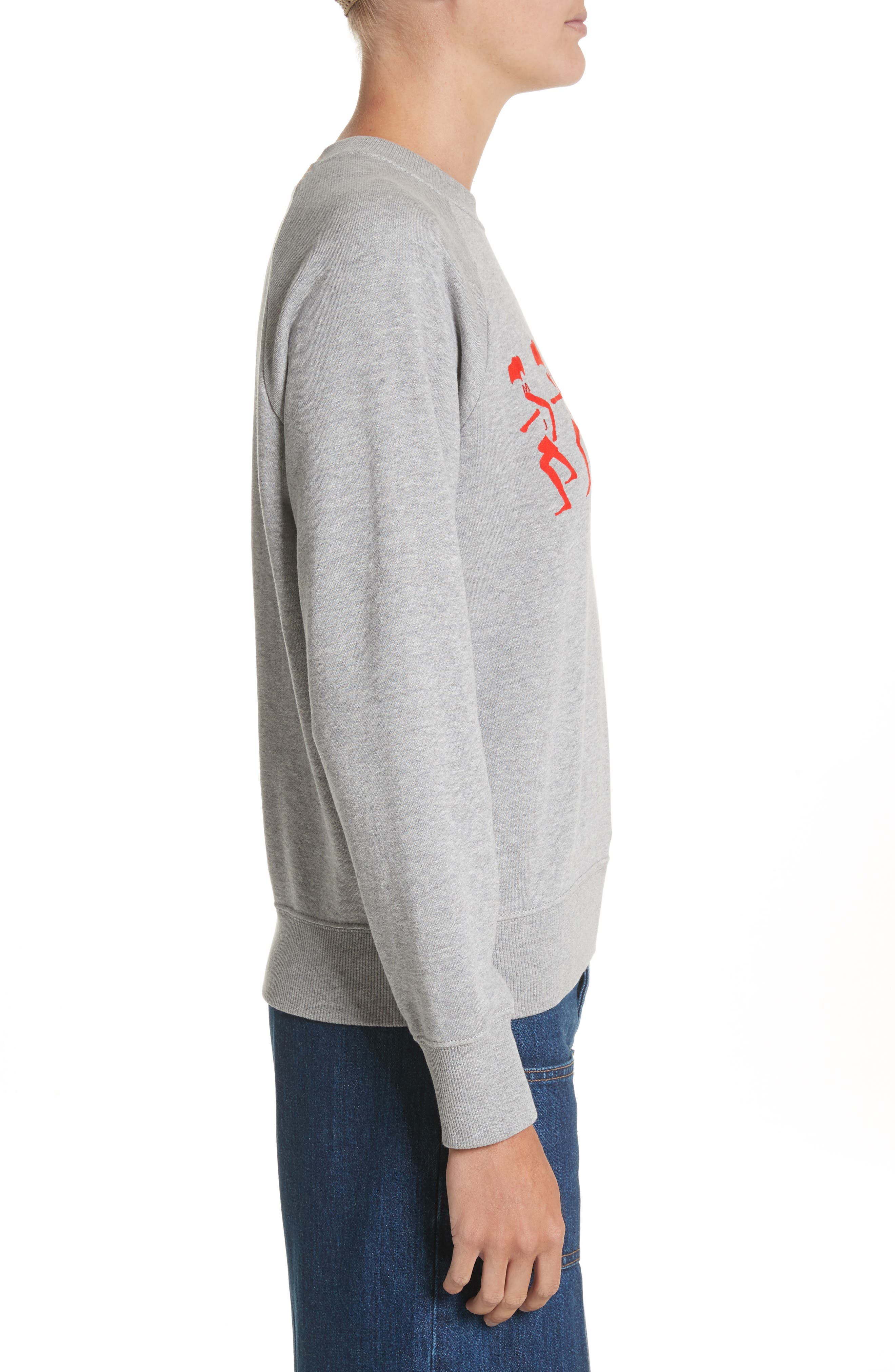 Alternate Image 3  - MARC JACOBS Graphic Raglan Sweatshirt