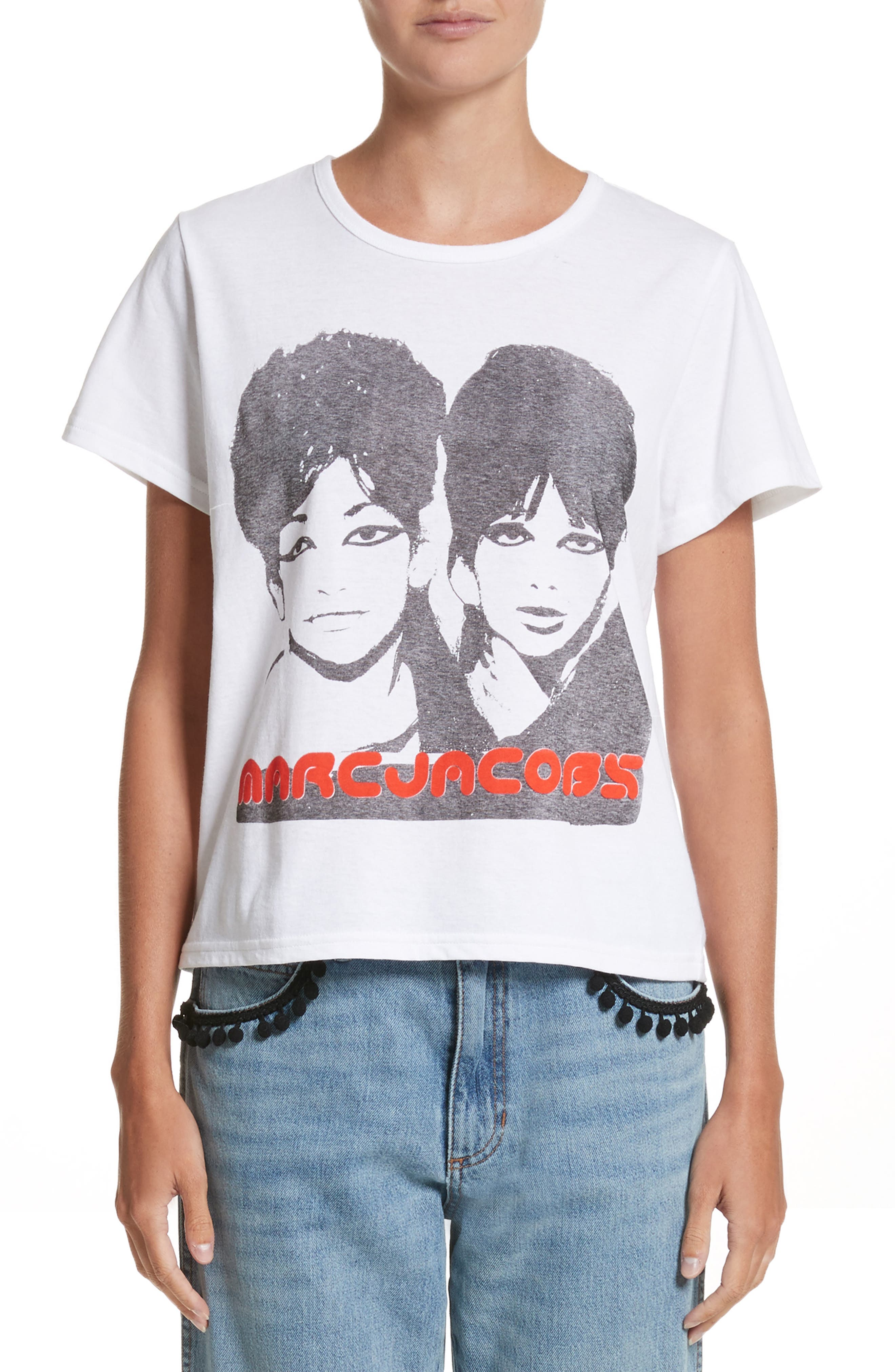 Alternate Image 1 Selected - MARC JACOBS Classic Screenprint Tee