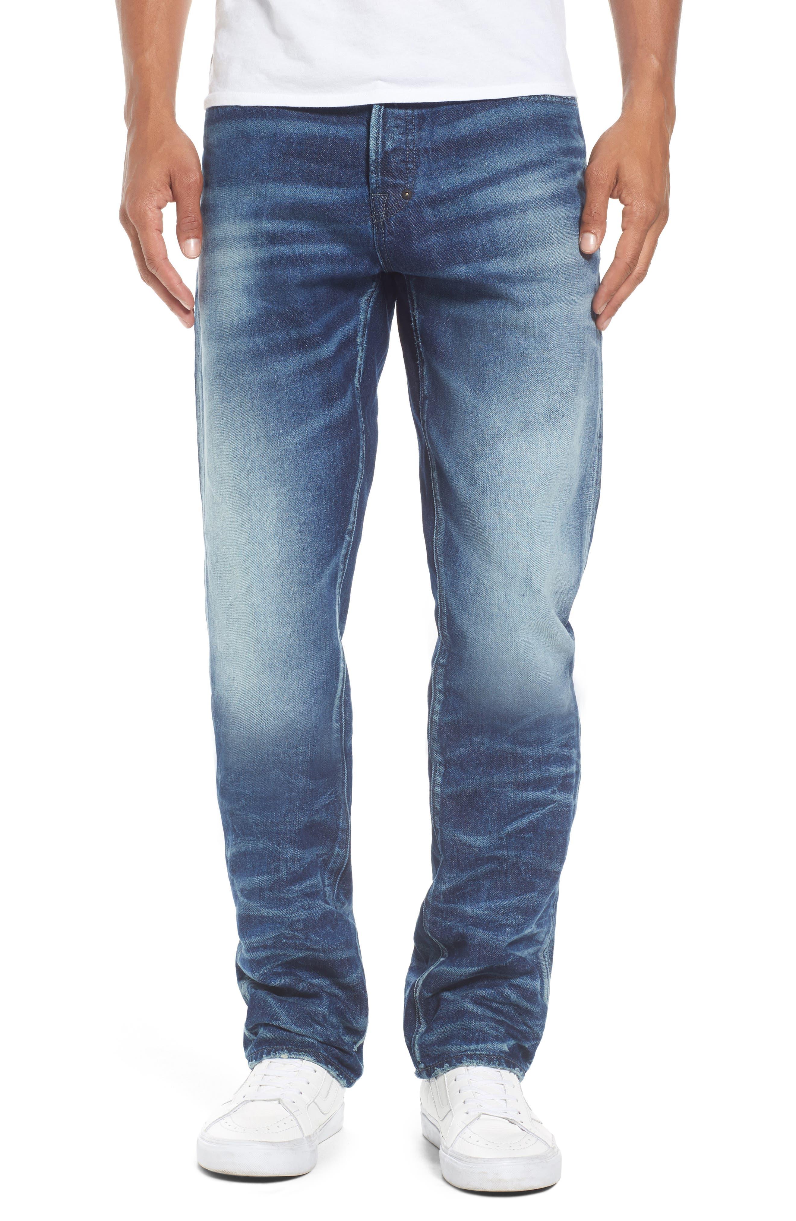 PRPS Demon Slim Straight Leg Jeans (Indigo)