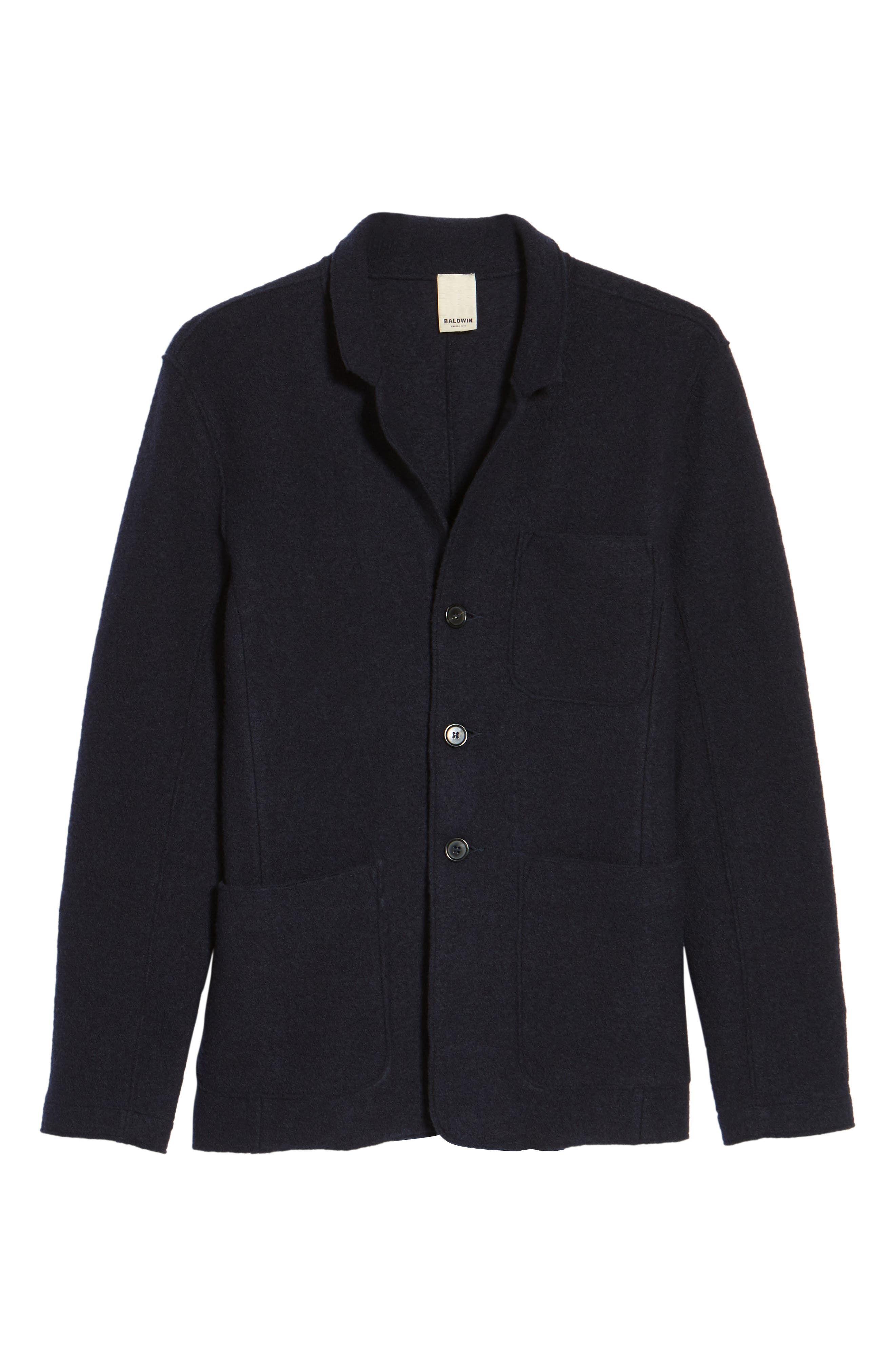 Alternate Image 5  - Baldwin Regular Fit Merino Wool Blazer