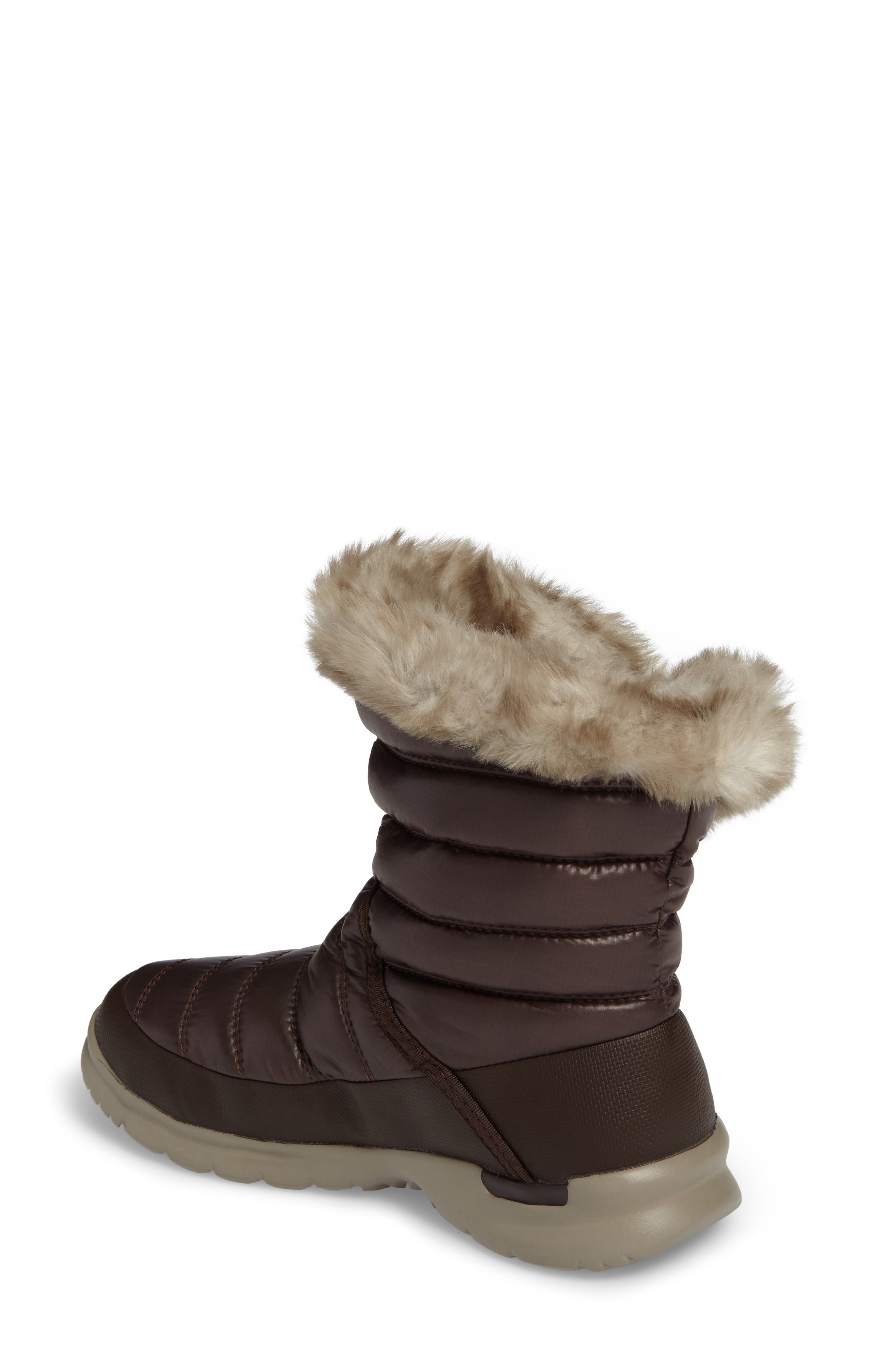 Alternate Image 2  - The North Face Microbaffle Waterproof ThermoBall™ Insulated Winter Boot (Women)