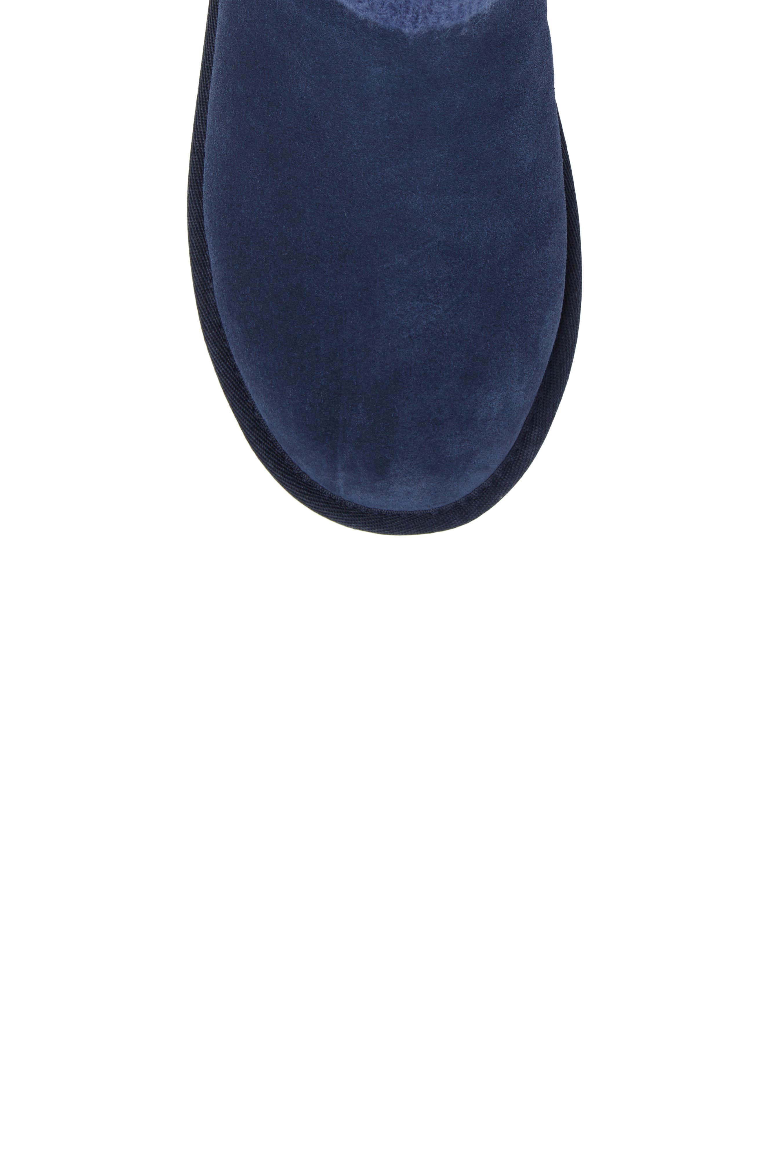 Saela Icelandic Boot,                             Alternate thumbnail 5, color,                             Navy Suede