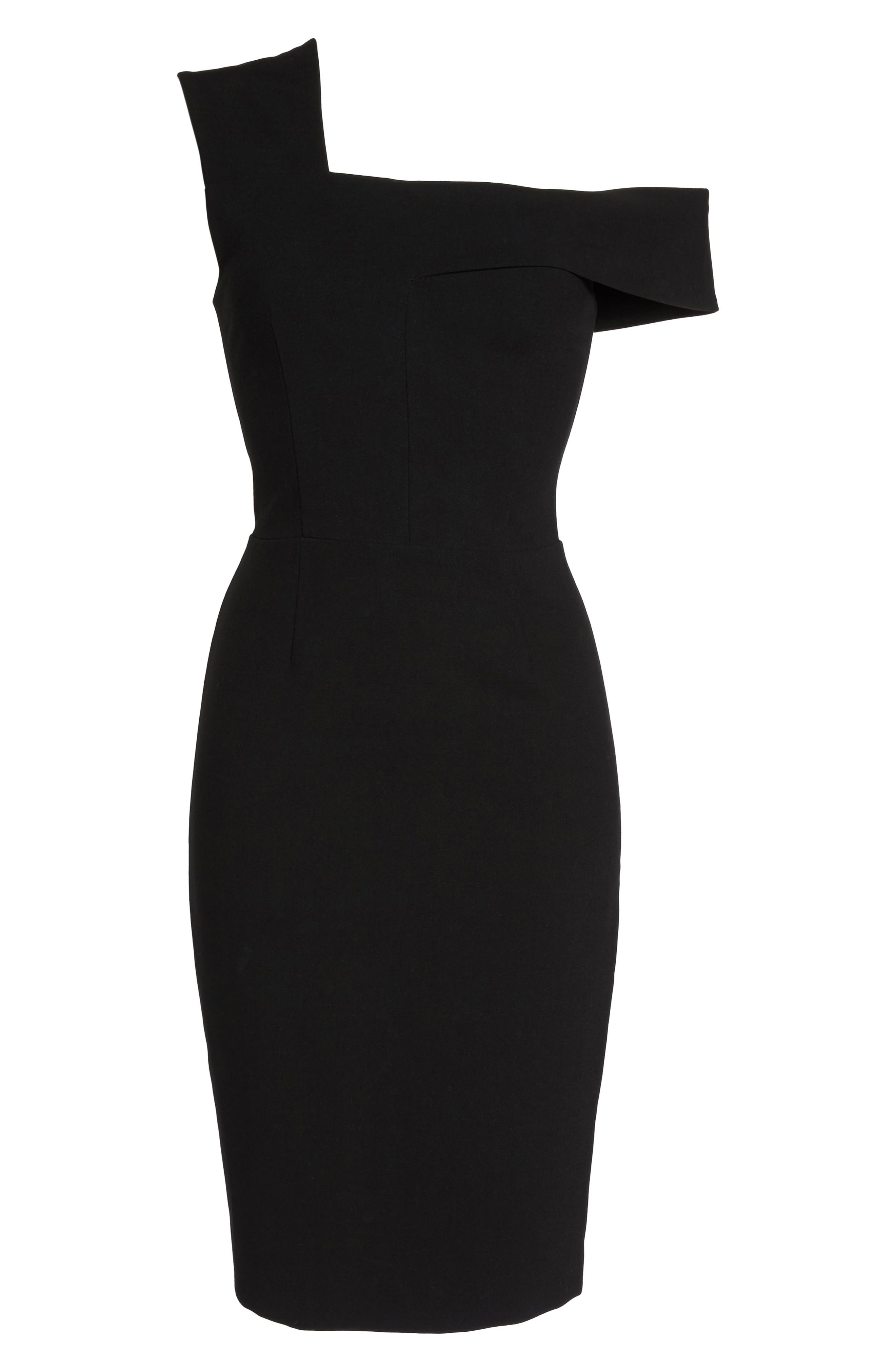 Alternate Image 6  - French Connection Whisper Ruth Off the Shoulder Sheath Dress