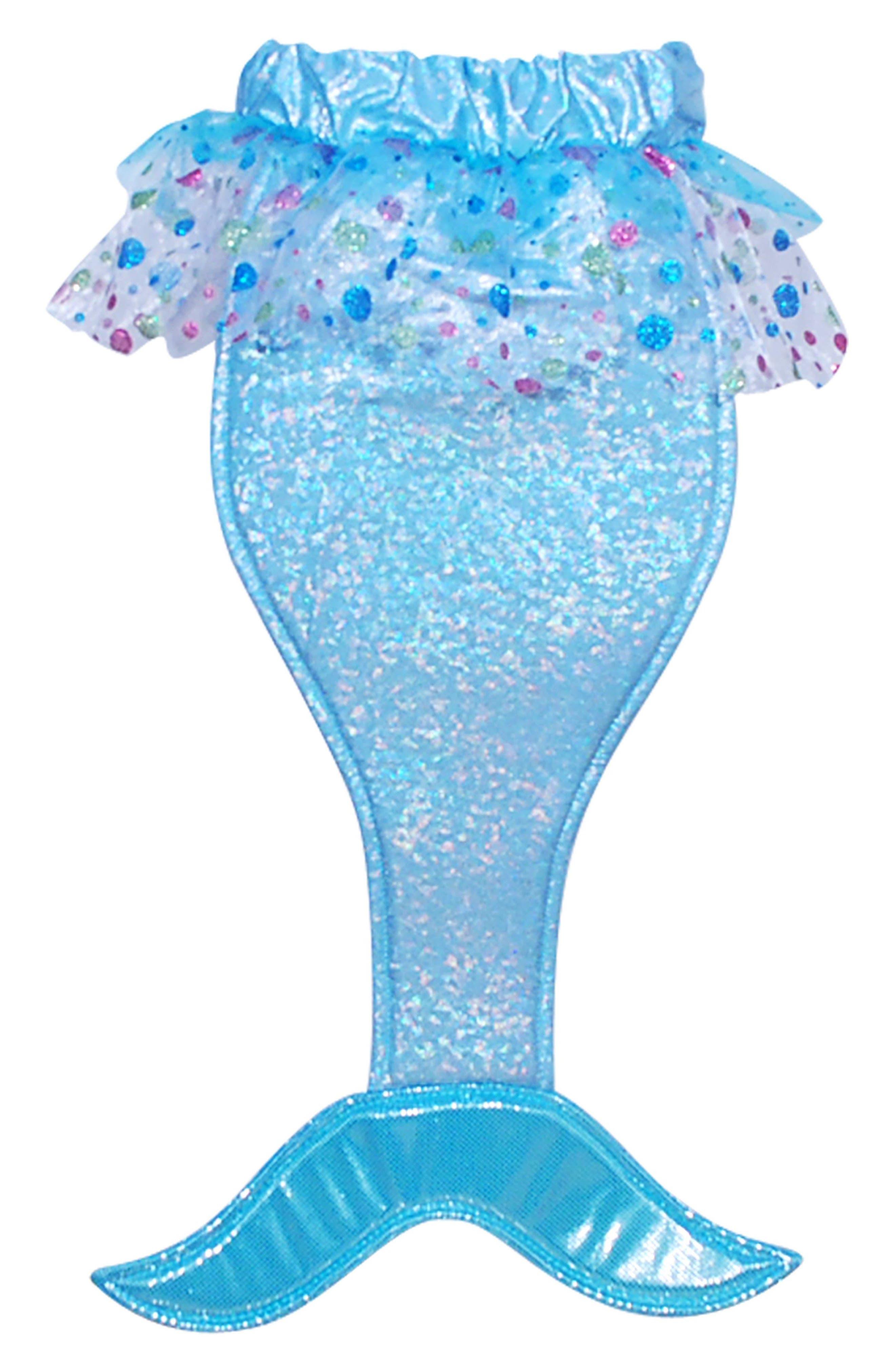 Pink Poppy Mermaid Tail