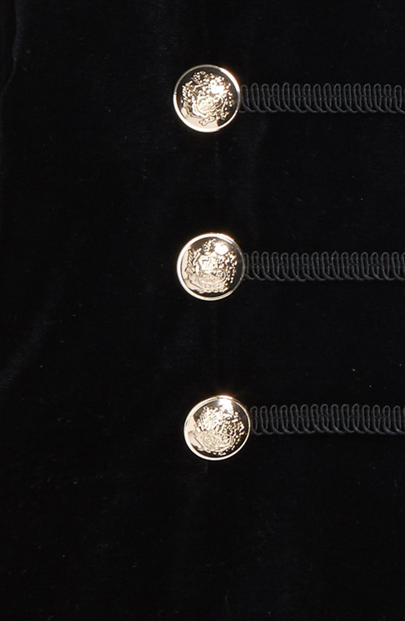 Alternate Image 2  - Bardot Junior Military Jacket (Big Girls)