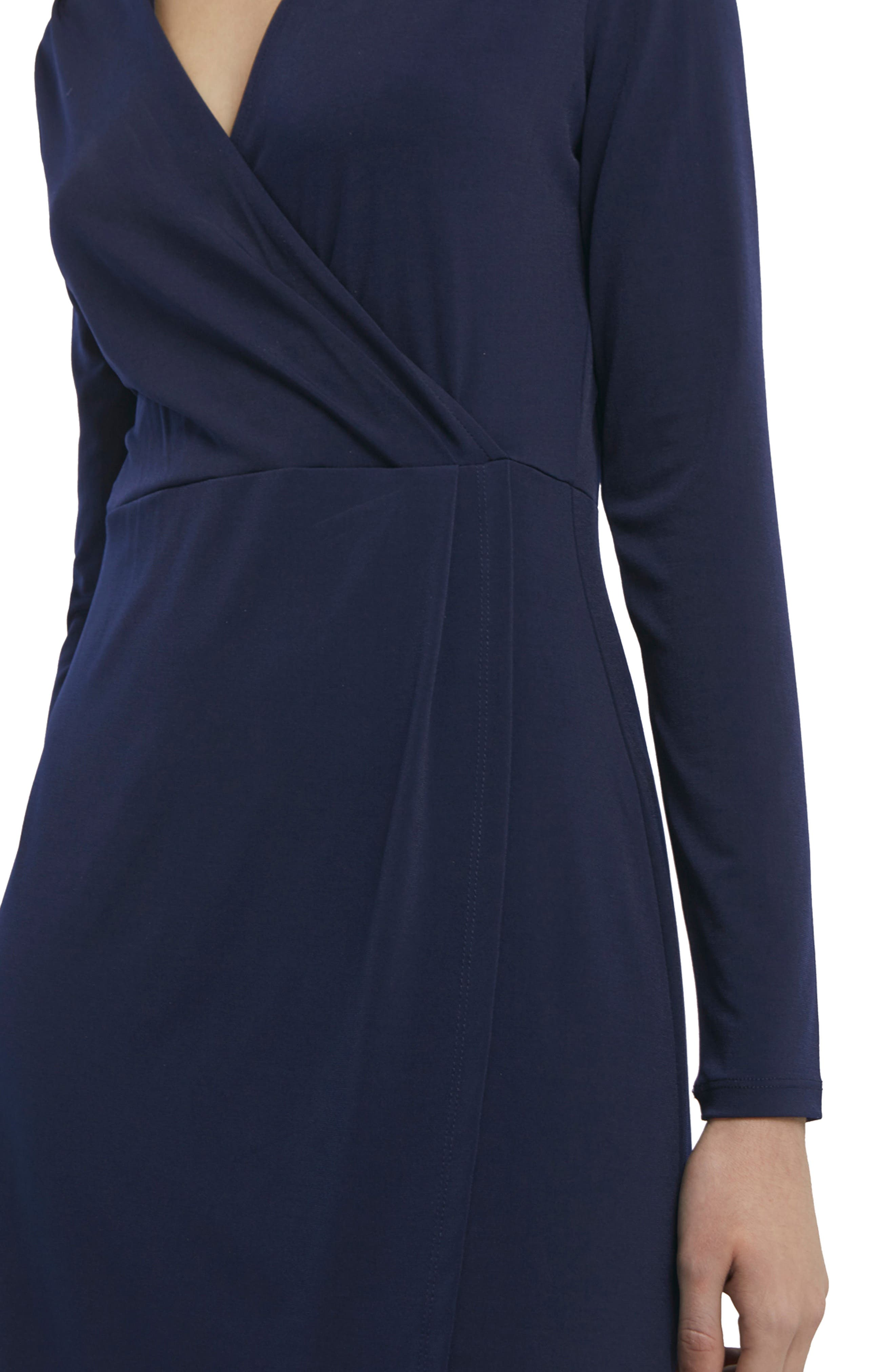 Alternate Image 3  - French Connection Slinky Faux Wrap Dress