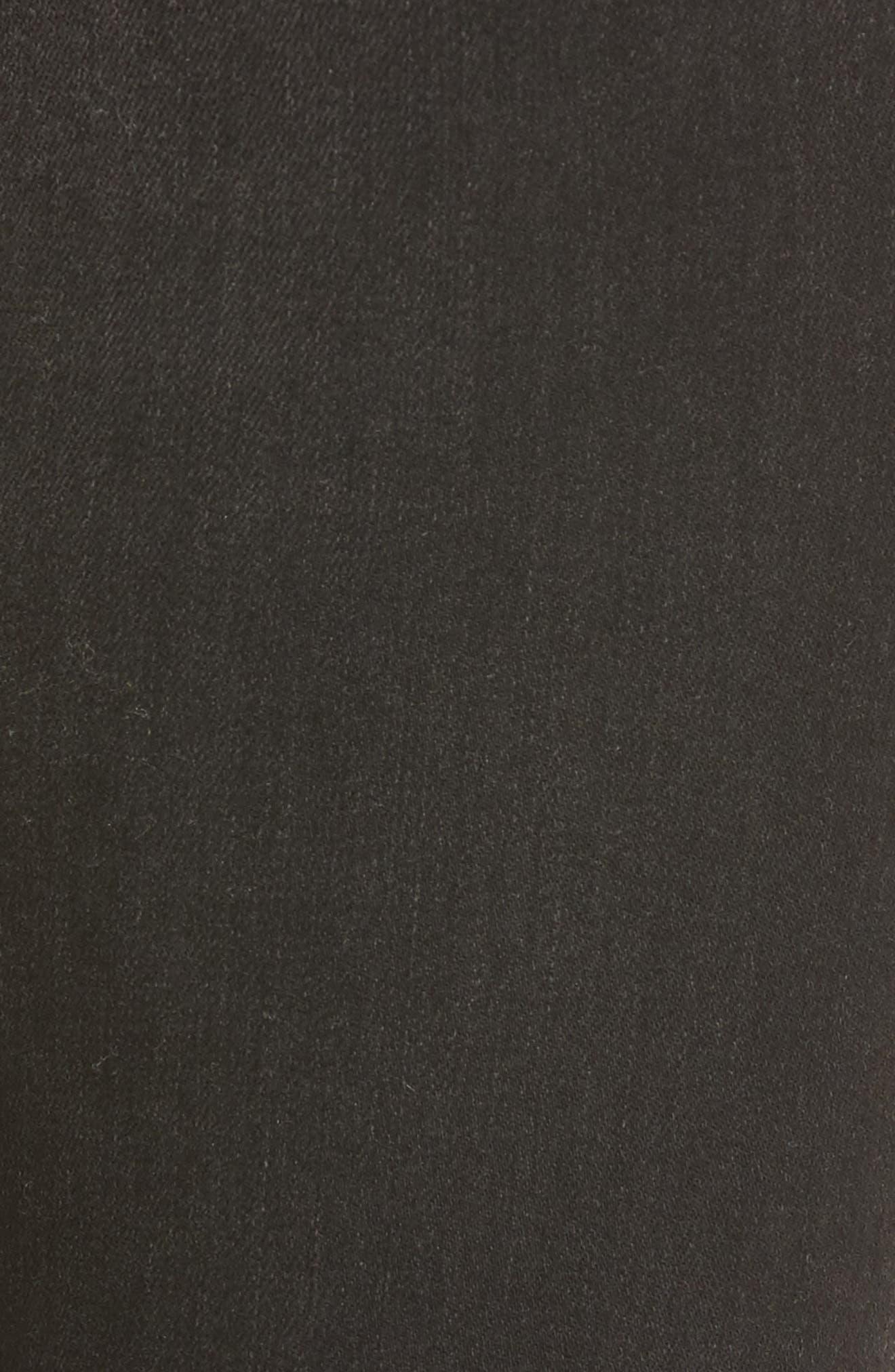 Alternate Image 6  - Citizens of Humanity Rocket High Waist Crop Skinny Jeans (Shadow Stripe Darkness)