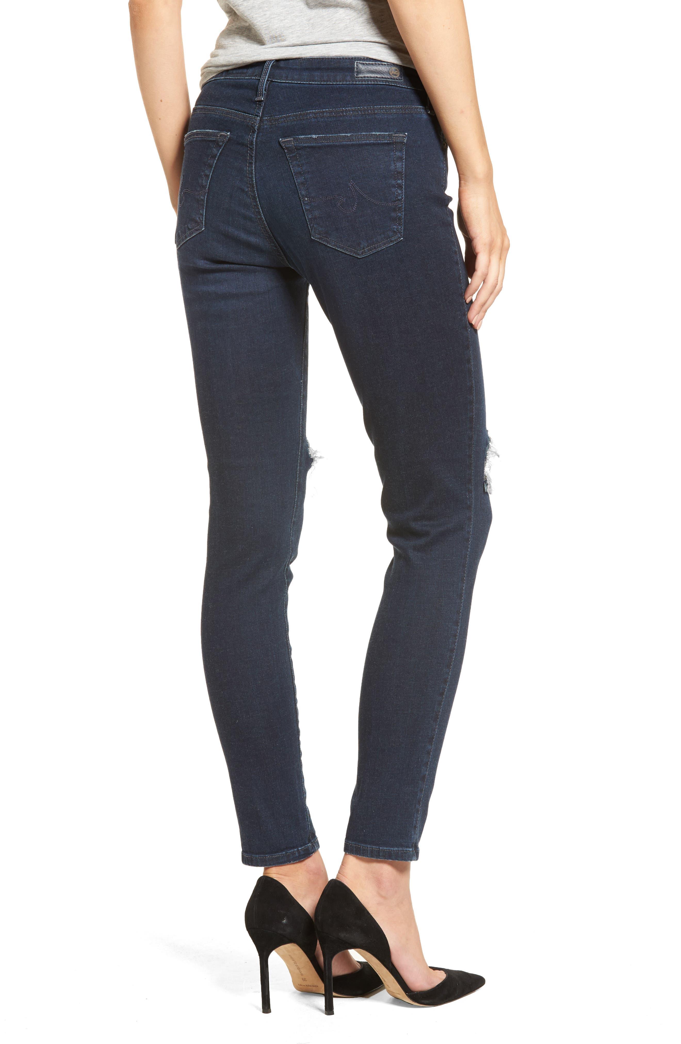 Alternate Image 2  - AG The Legging Ankle Jeans (Emanate)