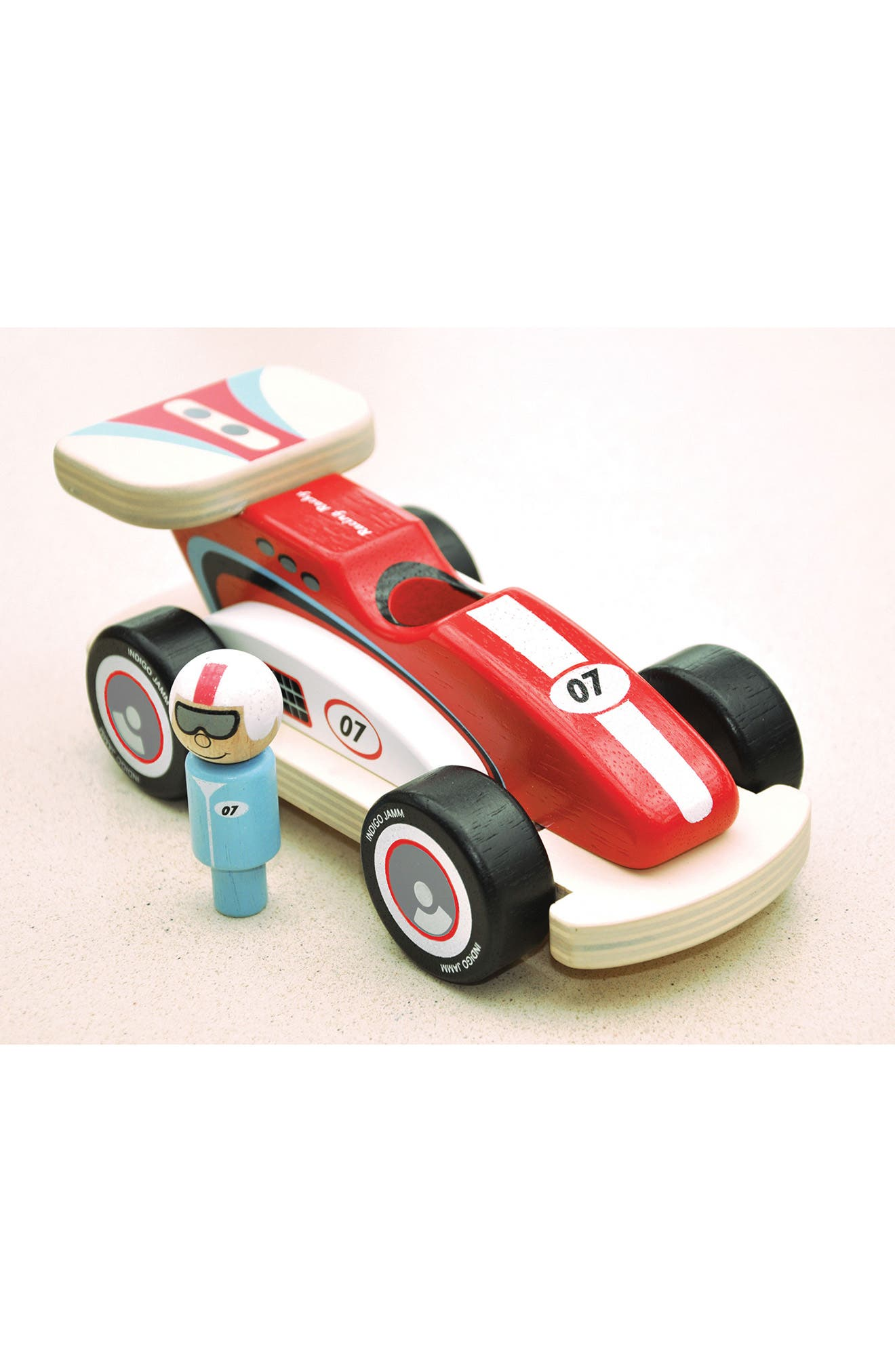 Rocky Racer Racing Car,                             Alternate thumbnail 3, color,                             Red