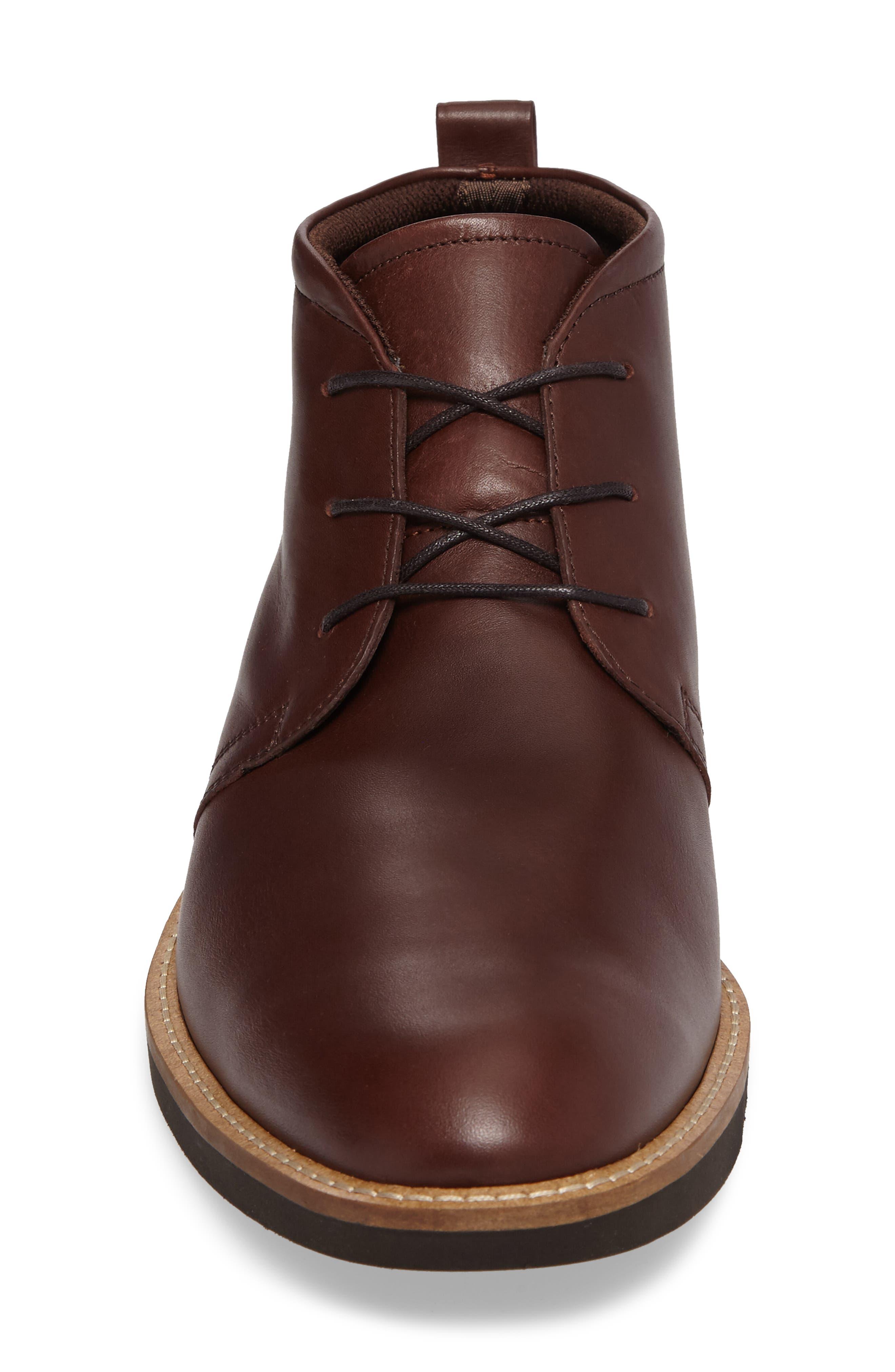 Biarritz Chukka Boot,                             Alternate thumbnail 4, color,                             Rust Leather