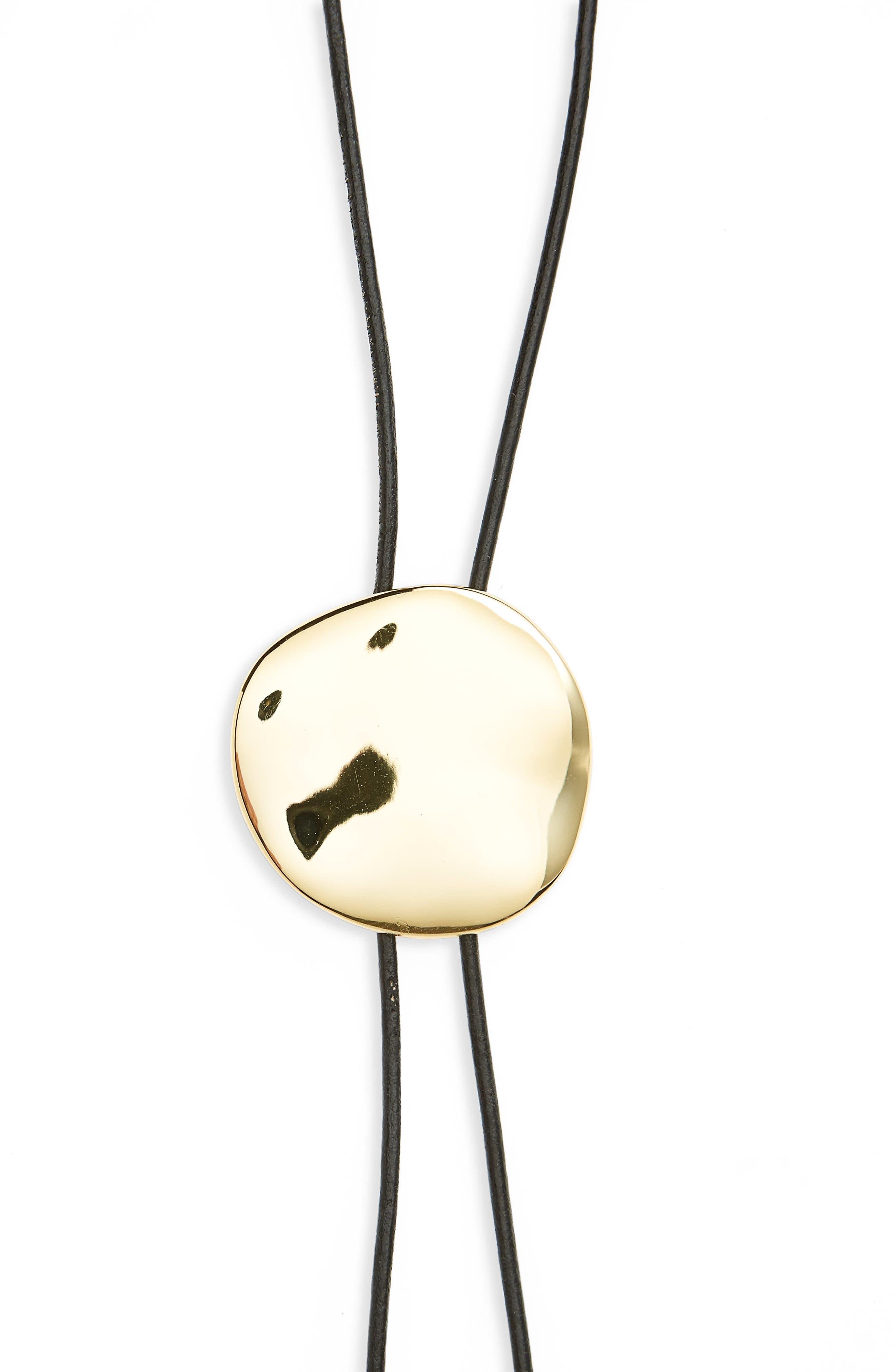 Alternate Image 2  - gorjana Chloe Adjustable Bolo Necklace