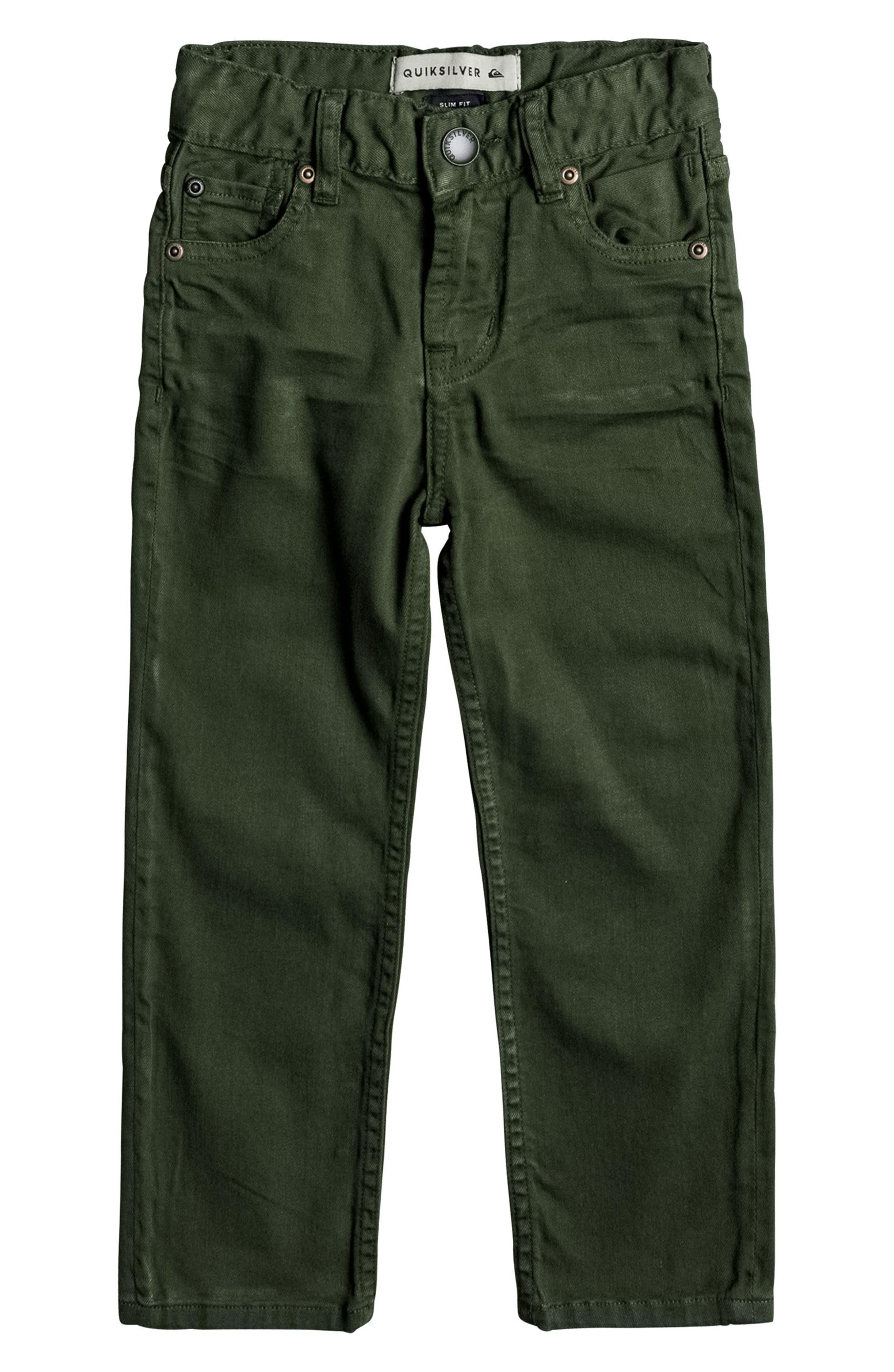 Quiksilver Distorsion Slim Fit Jeans (Toddler Boys & Little Boys)