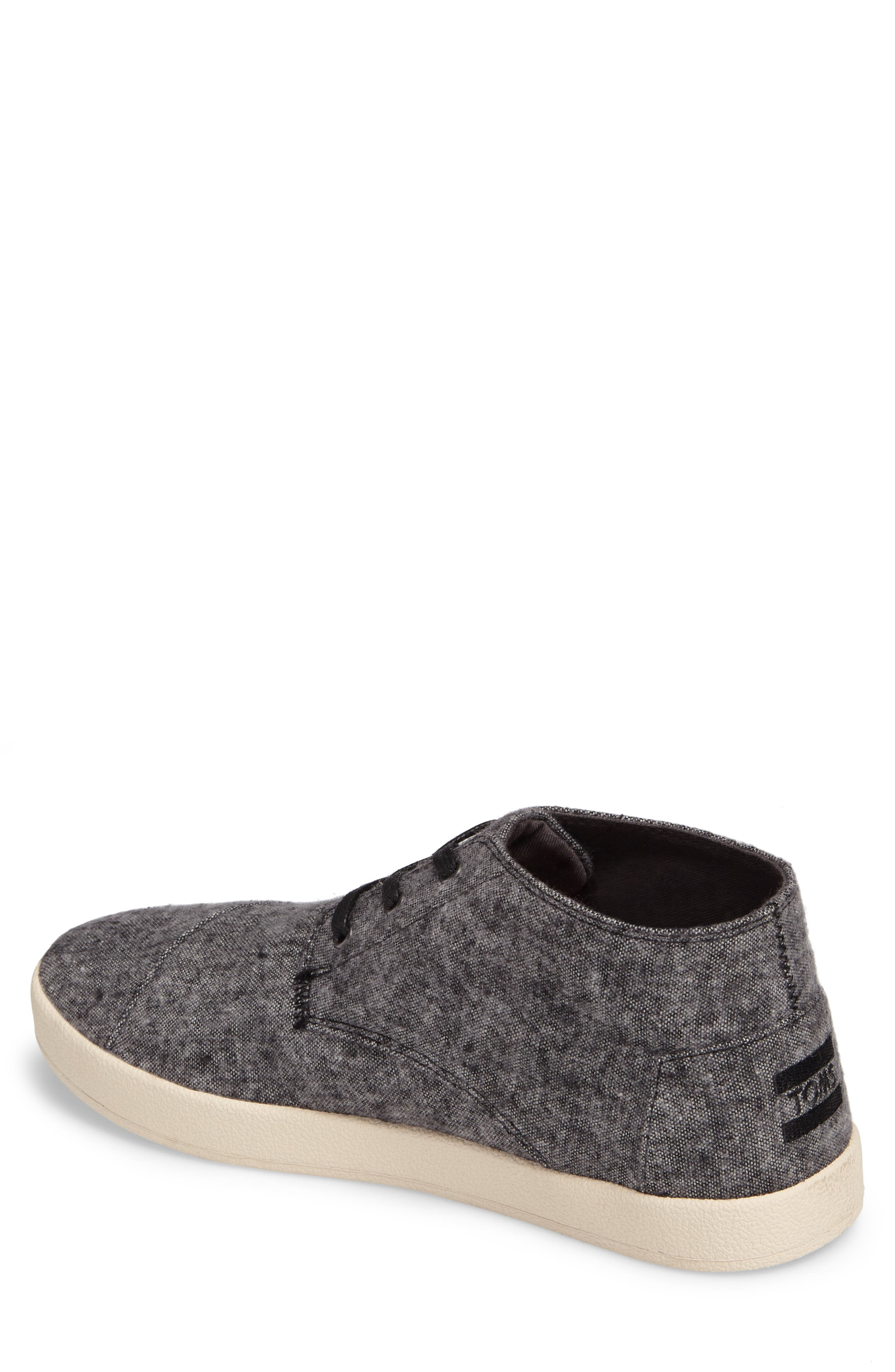 'Paseo Mid' Sneaker,                             Alternate thumbnail 2, color,                             Grey/Grey