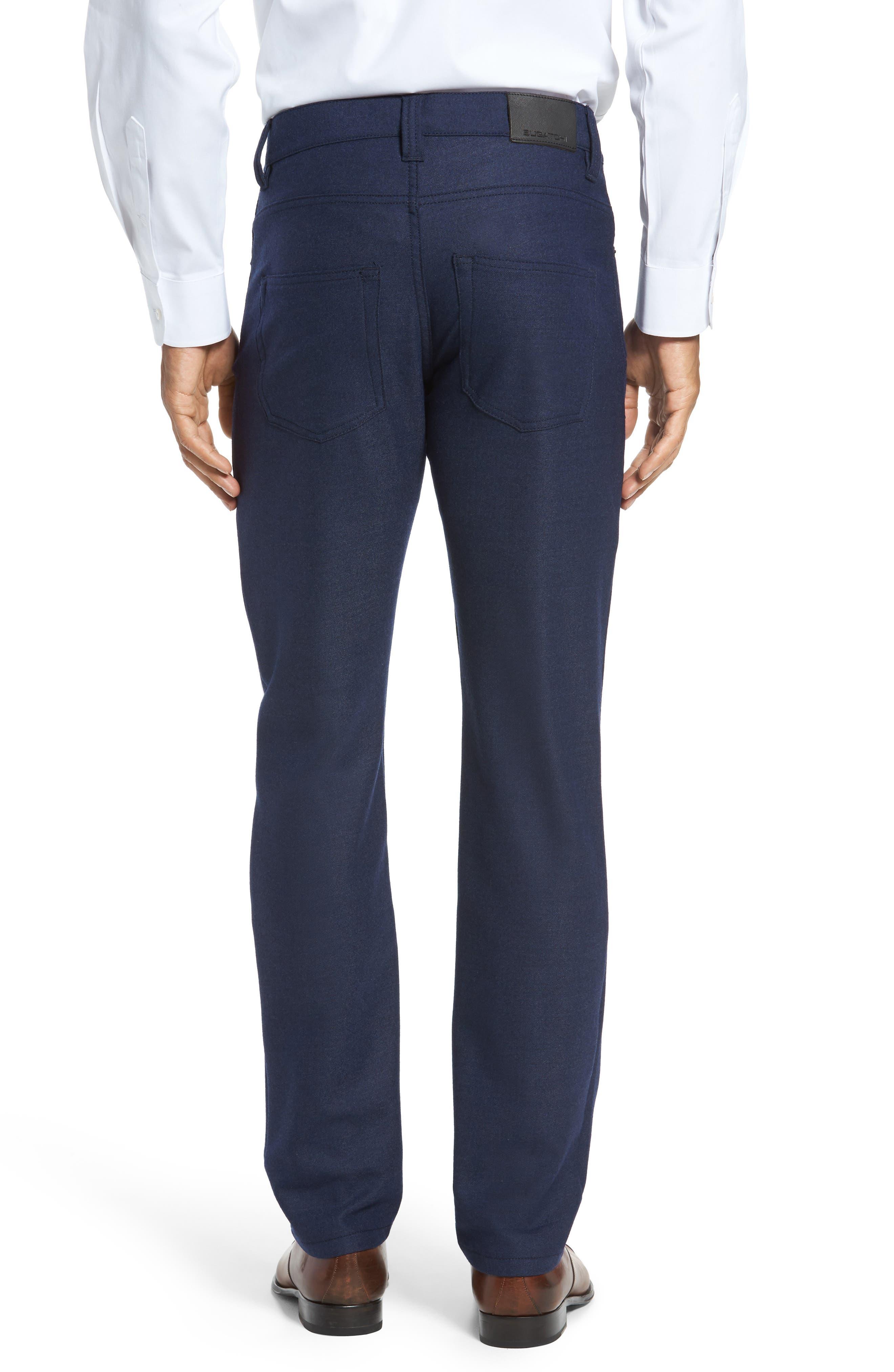 Alternate Image 2  - Bugatchi Wool Blend Pants