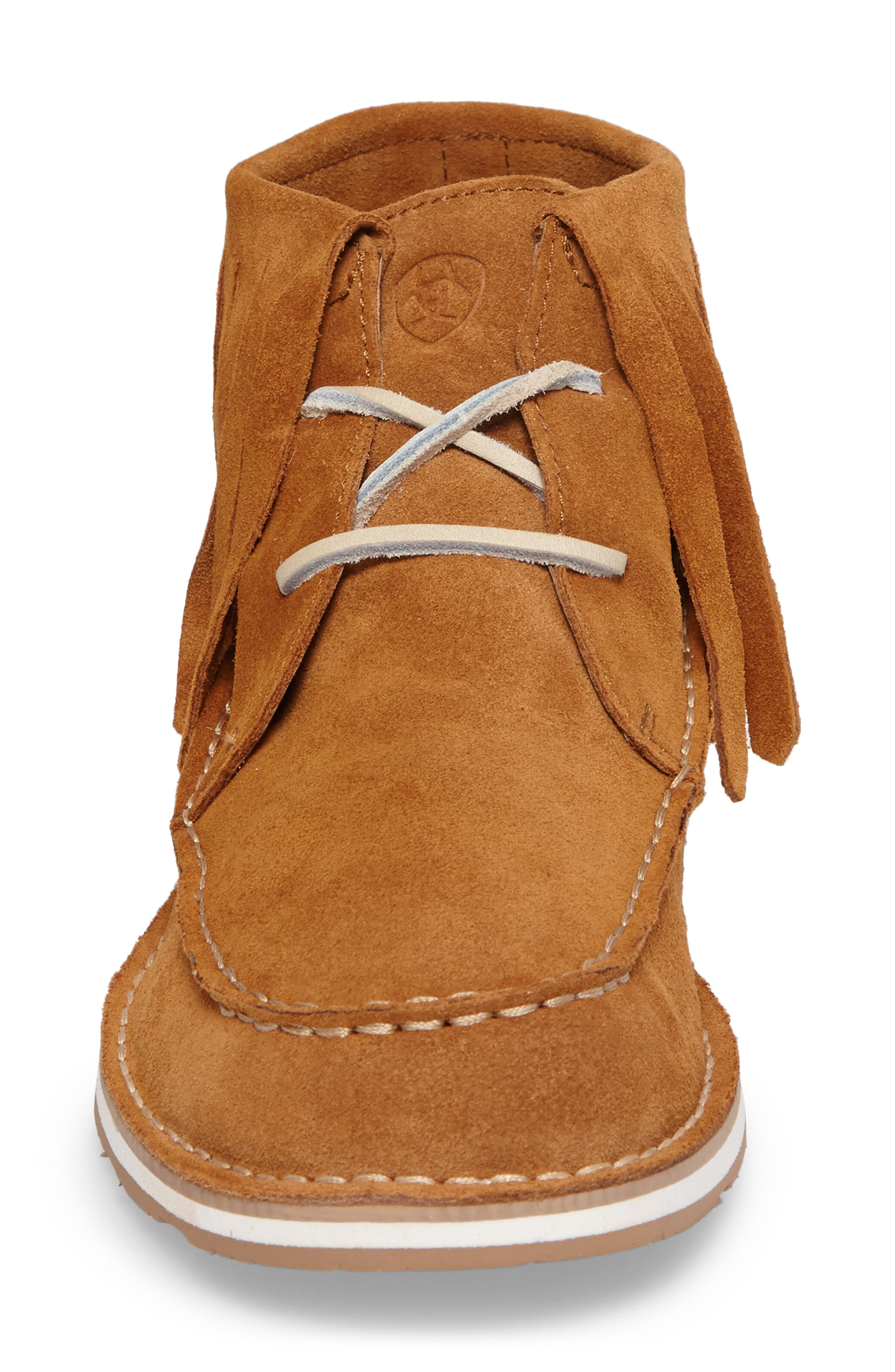 Alternate Image 4  - Ariat Cruiser Fringe Chukka Boot (Women)