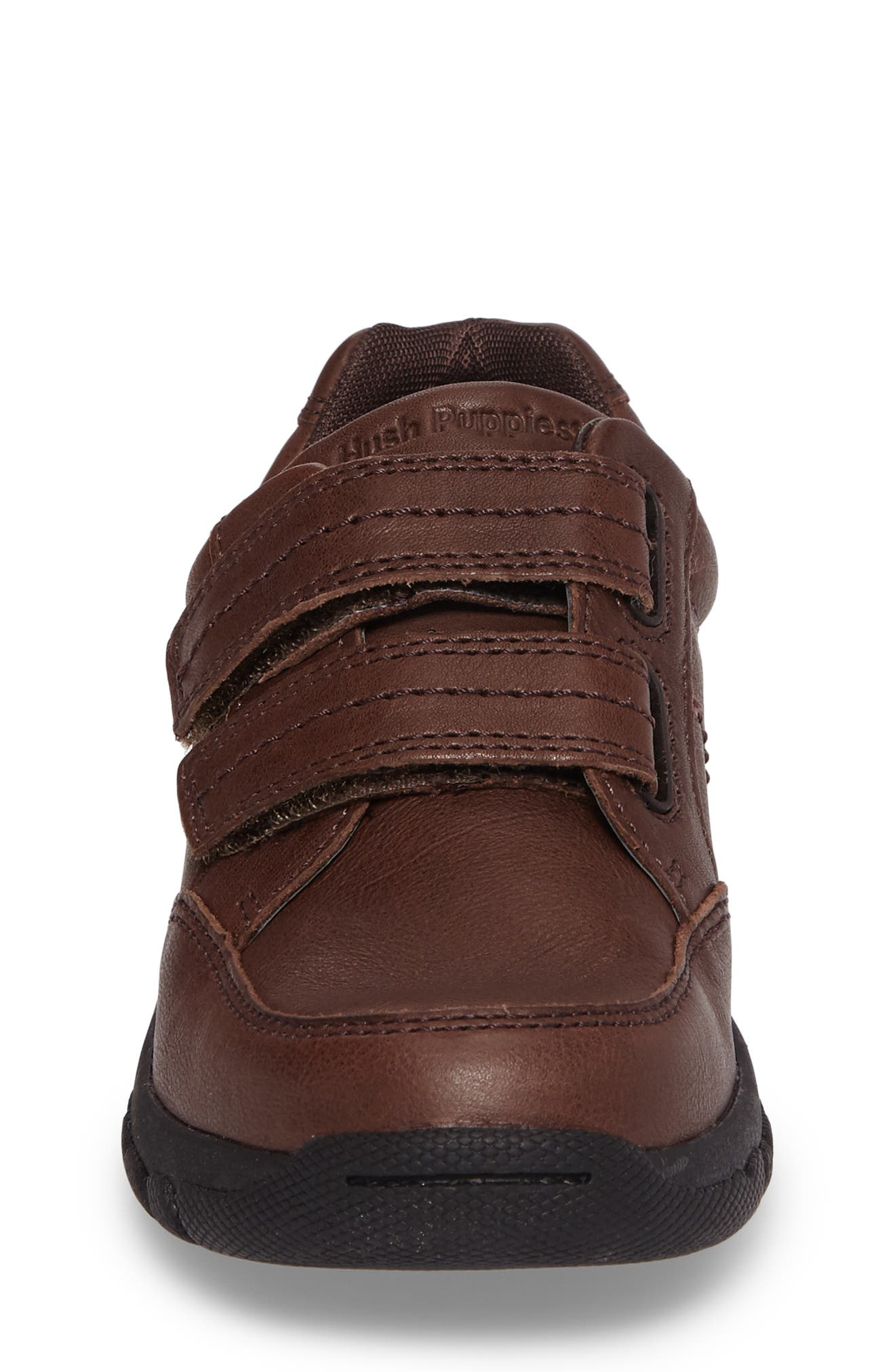 Jace Dress Sneaker,                             Alternate thumbnail 4, color,                             Brown Leather