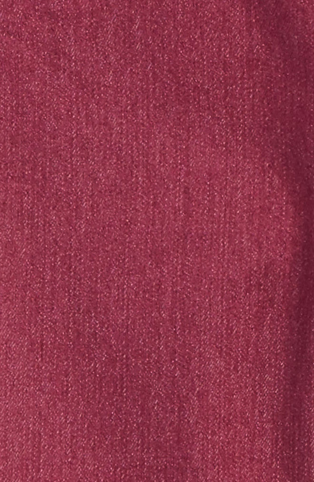 Soft Jeans,                             Alternate thumbnail 3, color,                             Maroon
