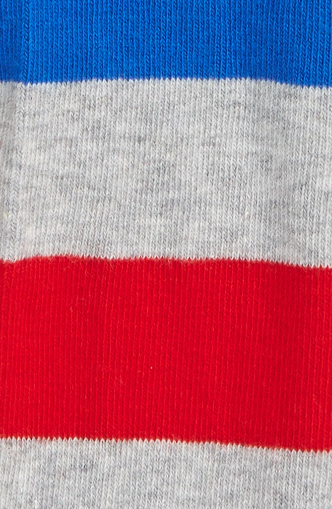 Giraffe Leggings,                             Alternate thumbnail 3, color,                             Green / Grey Marl / Blue / Red