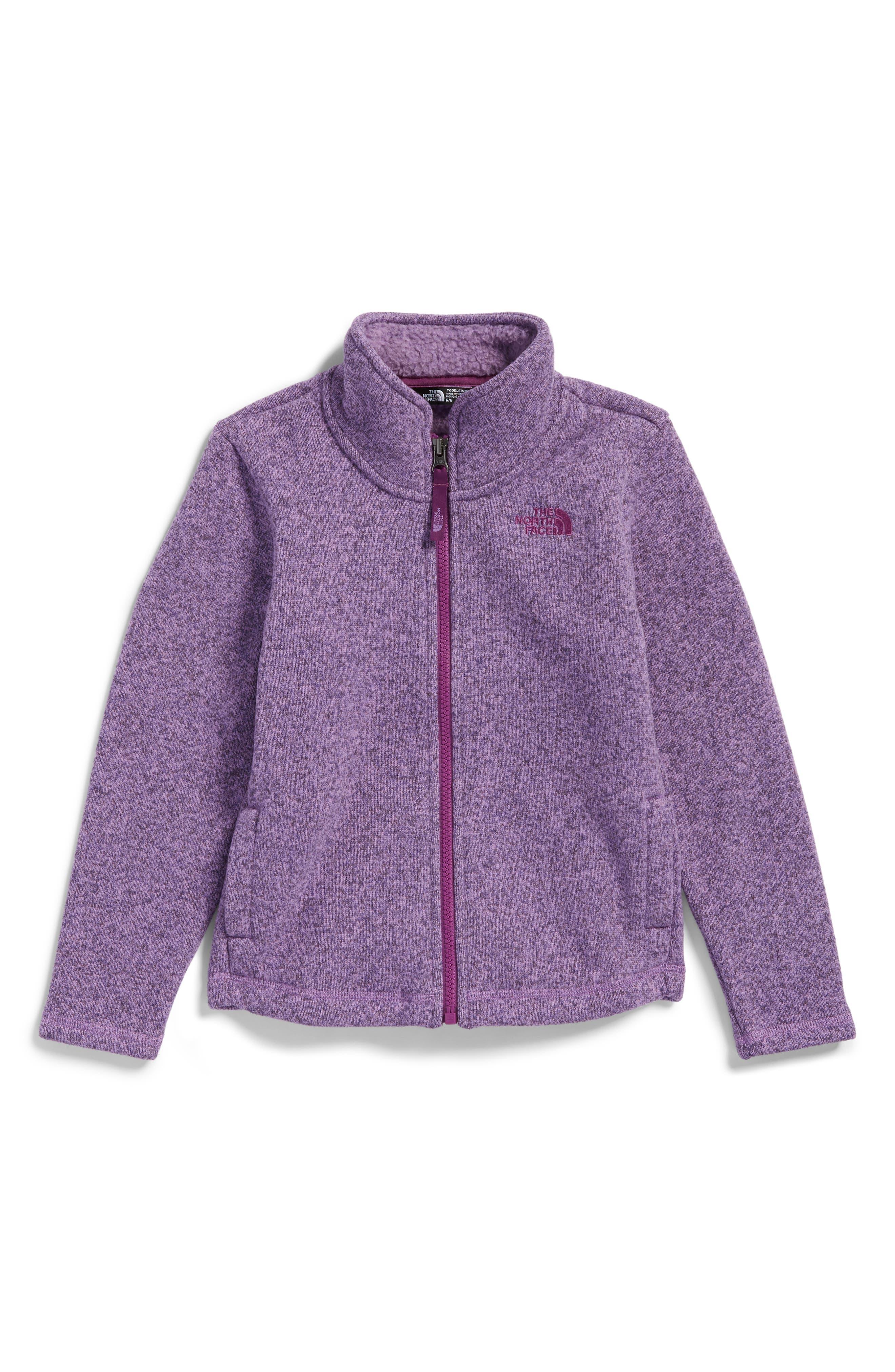 The North Face Crescent Fleece Jacket (Toddler Girls & Little Girls)