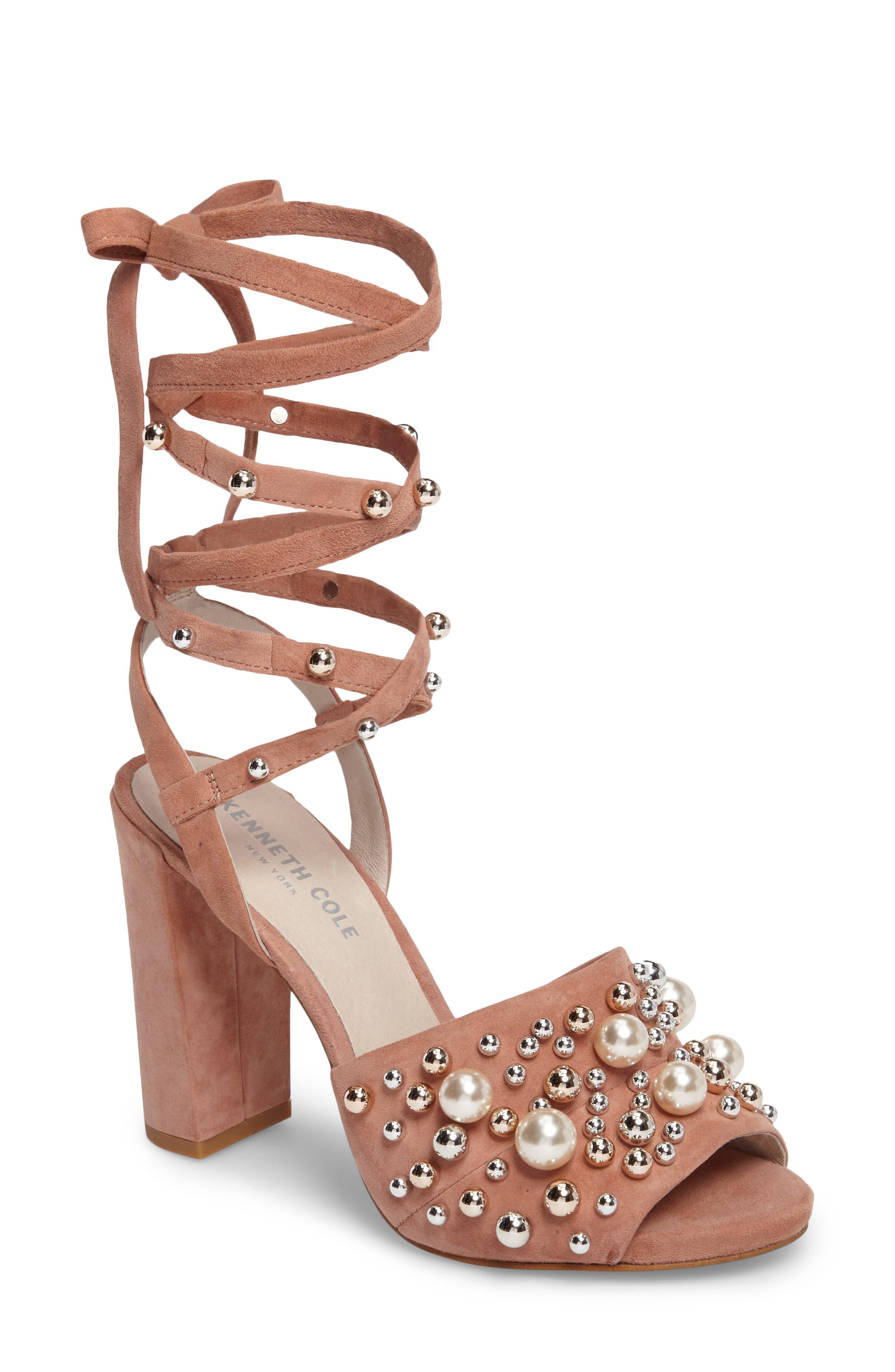 Kenneth Cole New York Dierdre Embellished Sandal (Women)