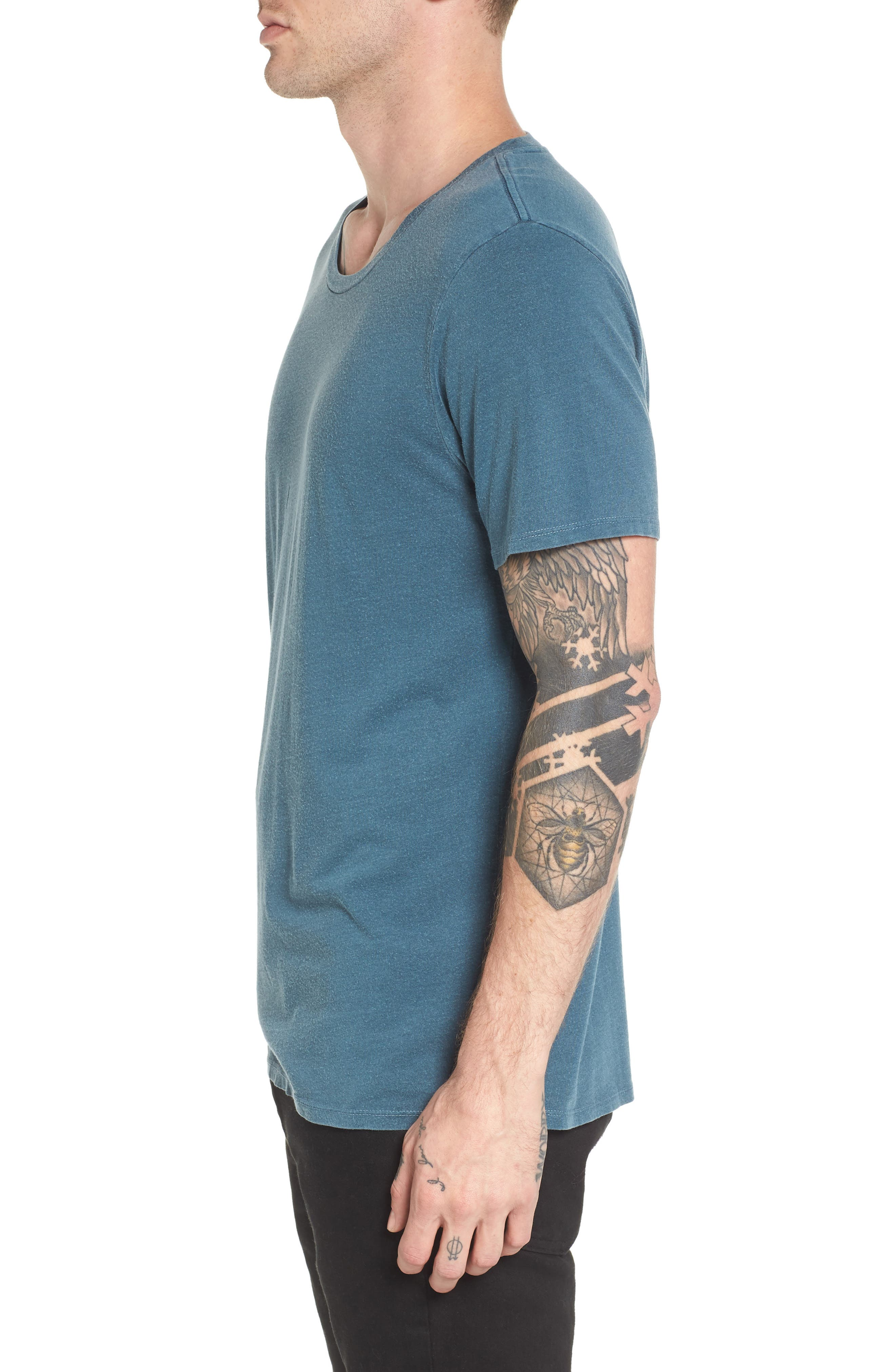 Alternate Image 3  - The Rail Slim Fit Scoop Neck T-Shirt