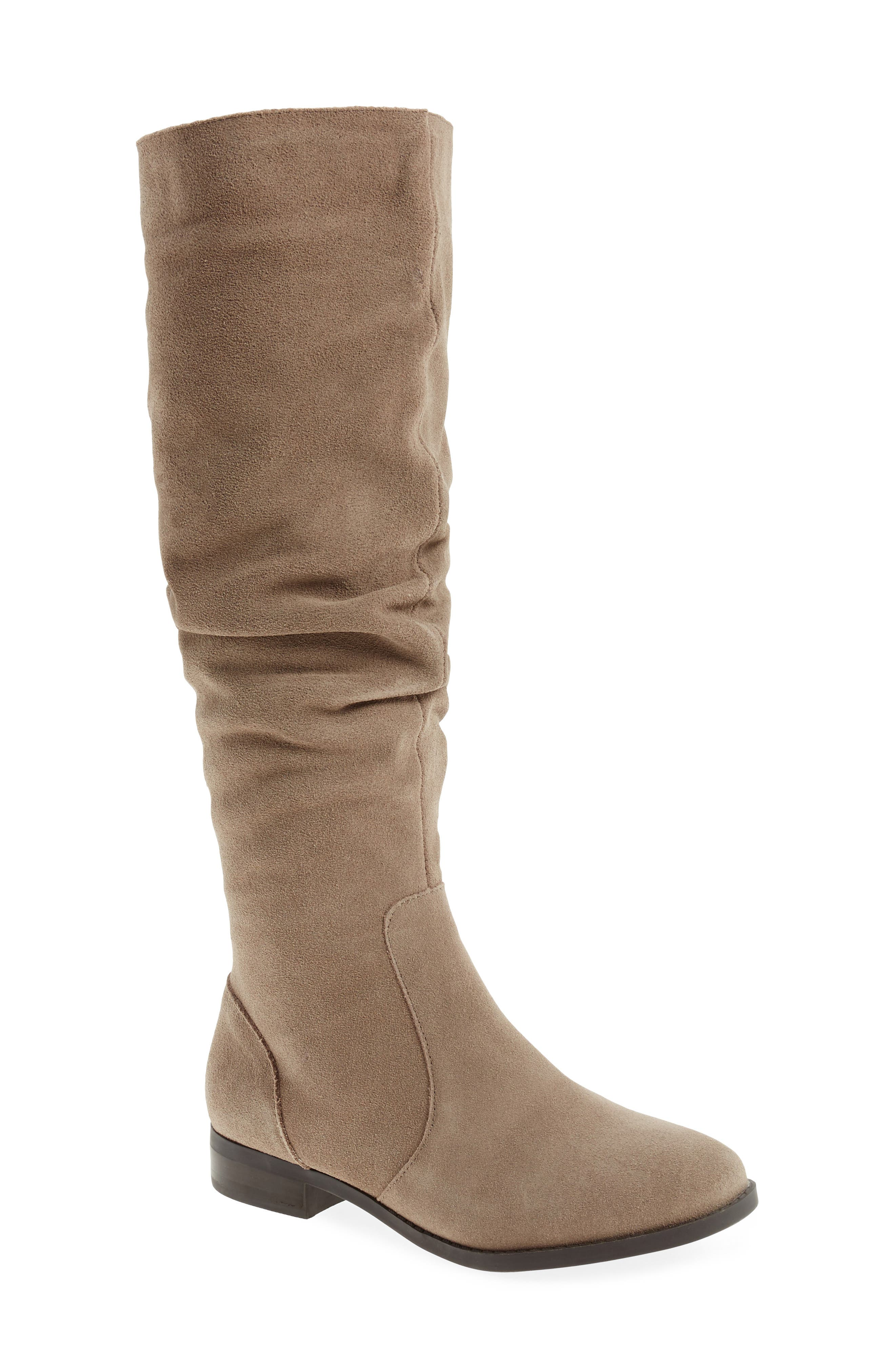 Taupe suede 'Beacon' knee high boots low cost online 14RbMPJKK