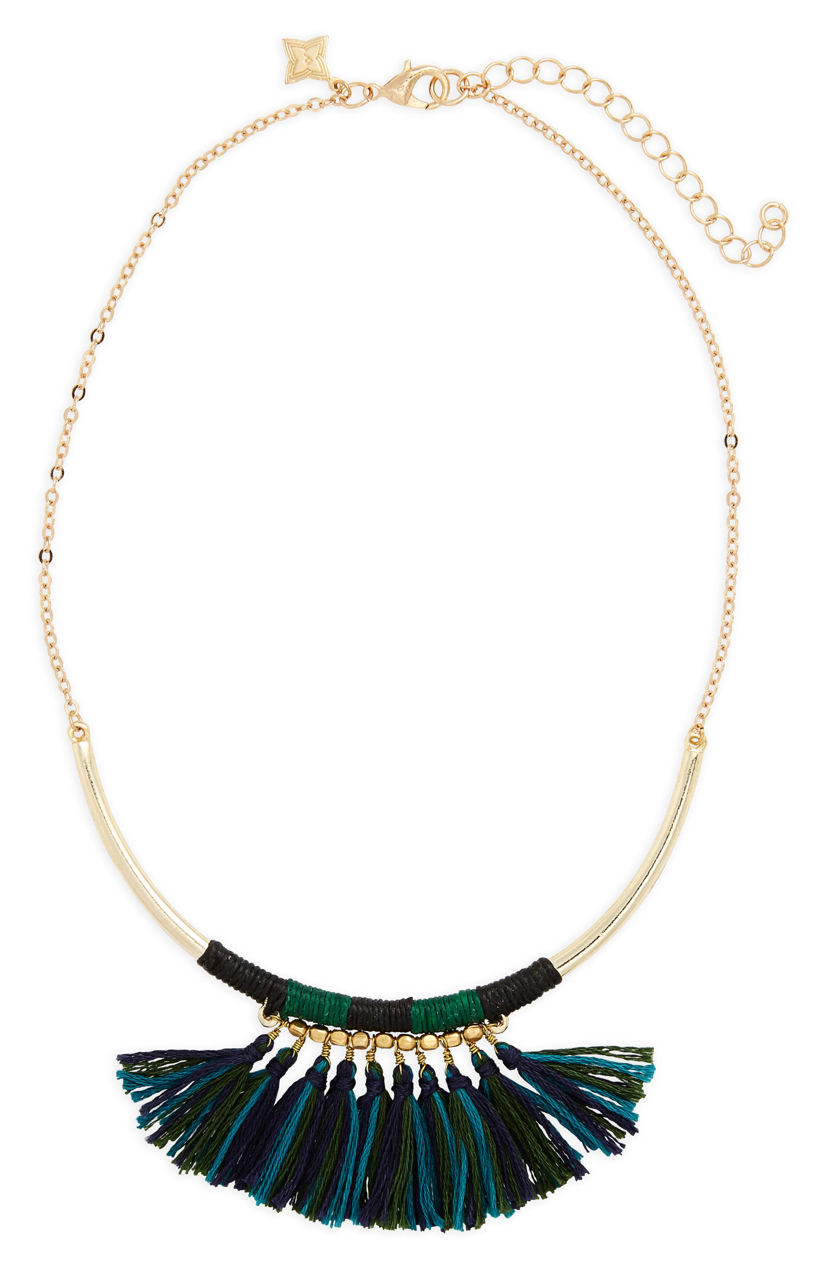 Panacea Fringe Collar Necklace