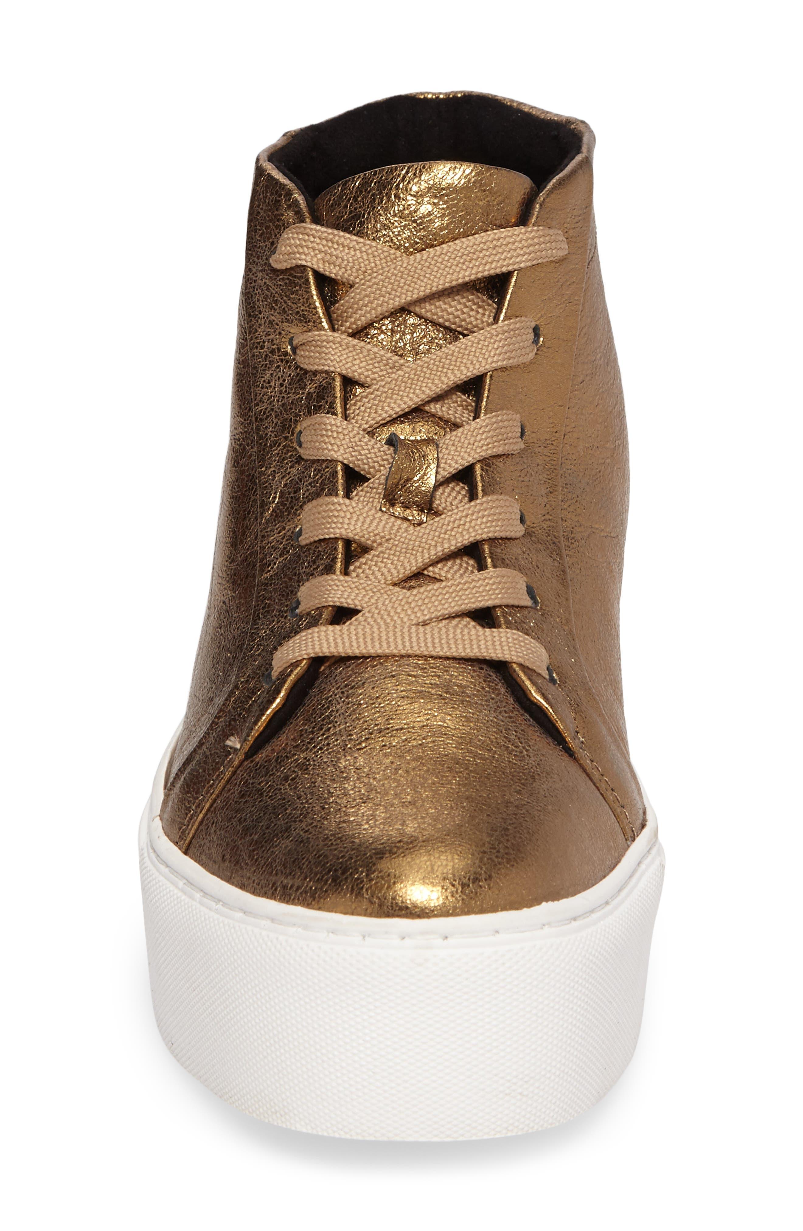 Alternate Image 4  - Kenneth Cole New York Janette High Top Platform Sneaker (Women)