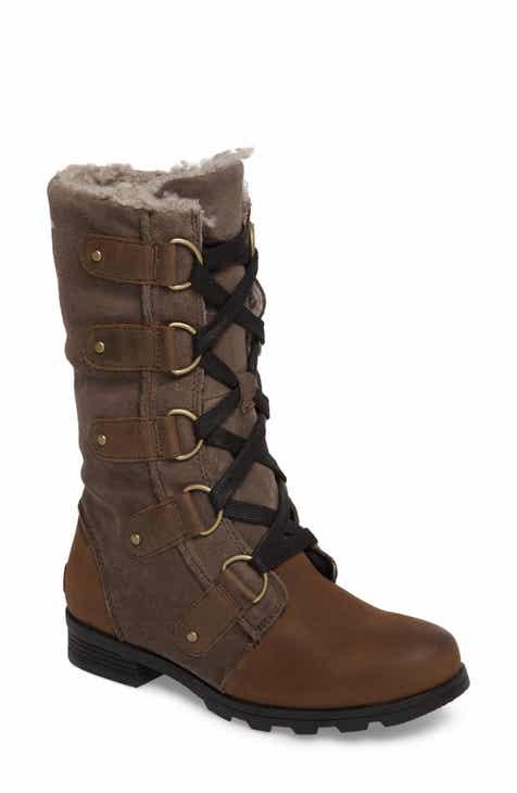 ff6921a220bc7f SOREL Emelie Waterproof Boot (Women)