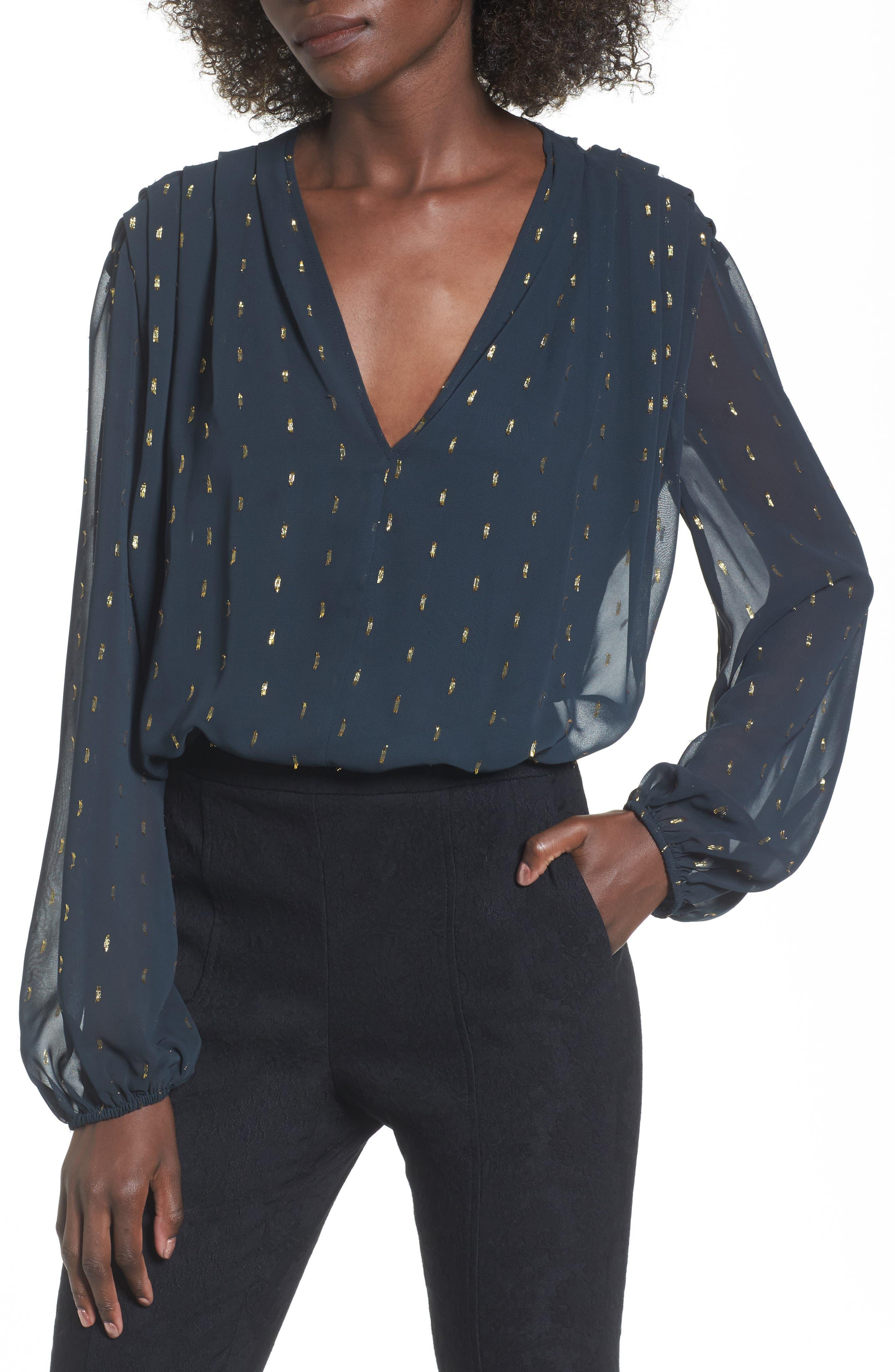 Main Image - Leith Bloused Bodysuit
