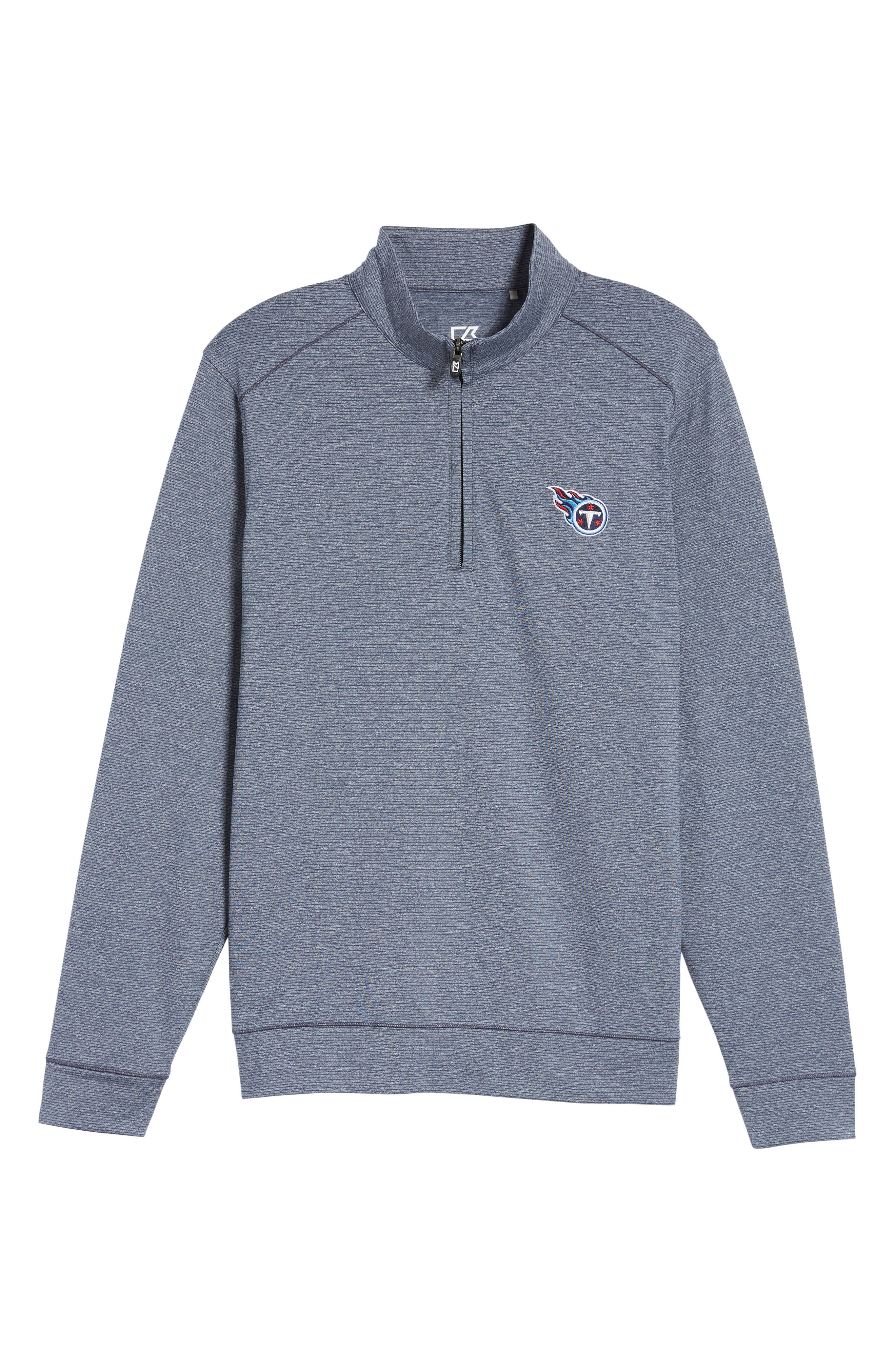 Alternate Image 6  - Cutter & Buck Shoreline - Tennessee Titans Half Zip Pullover