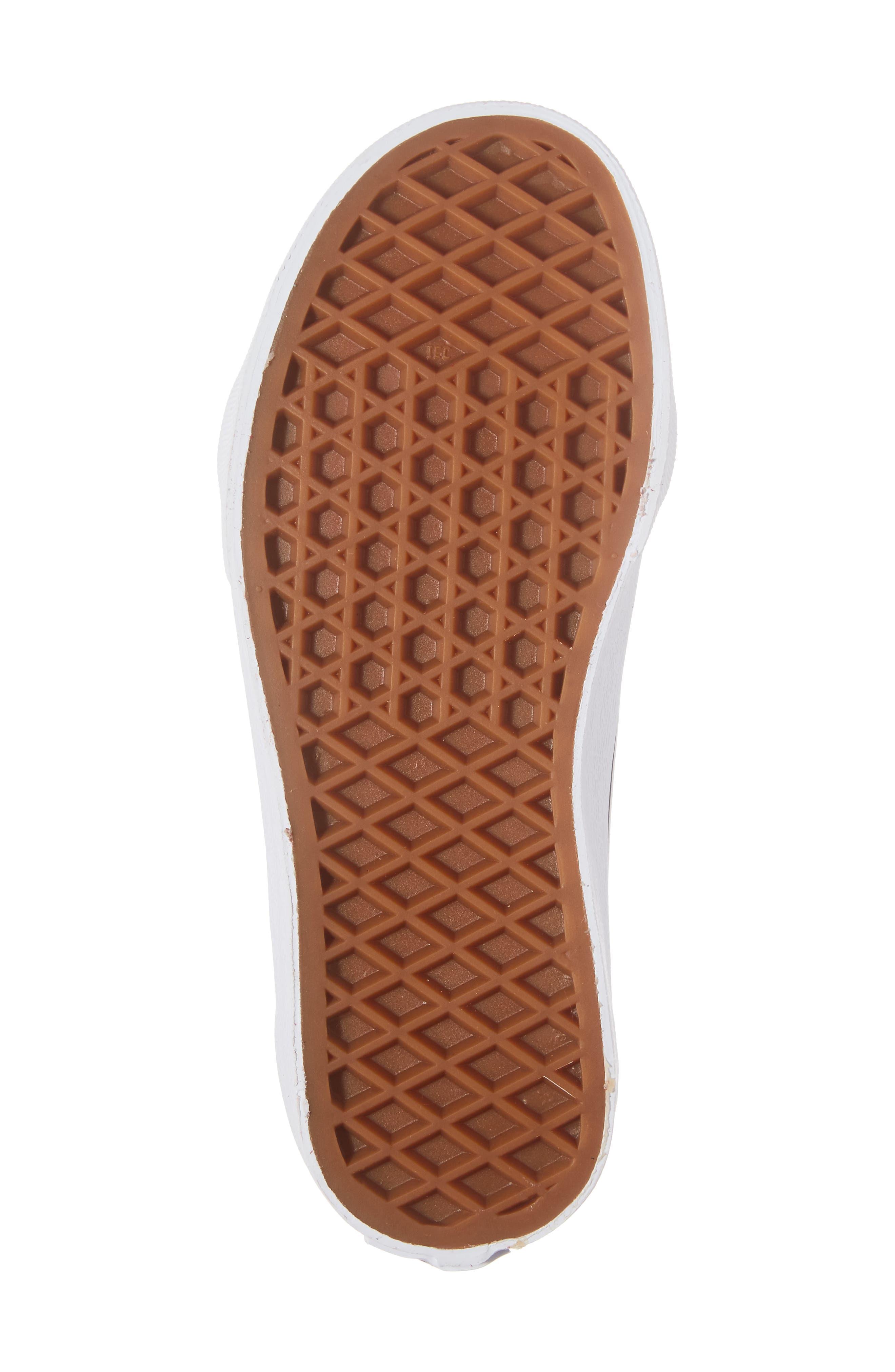 SK8-Hi Zip Sneaker,                             Alternate thumbnail 6, color,                             Tibetan Red/ Black