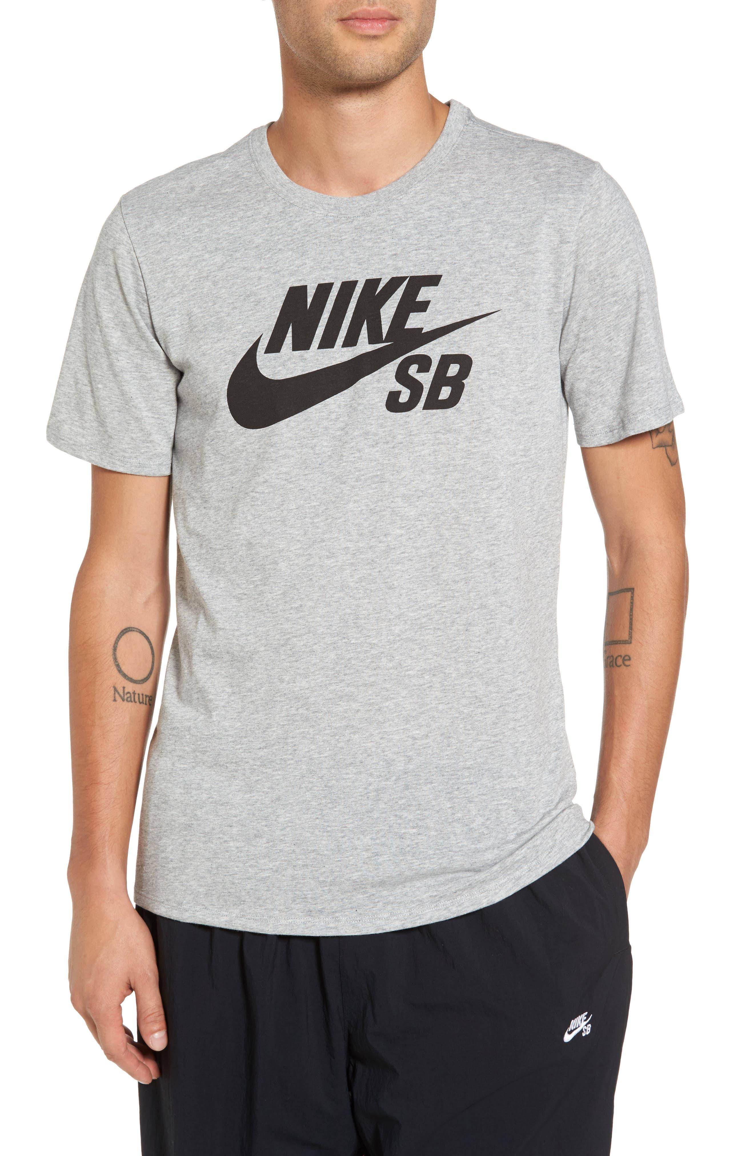 Alternate Image 1 Selected - Nike 'SB Logo' T-Shirt